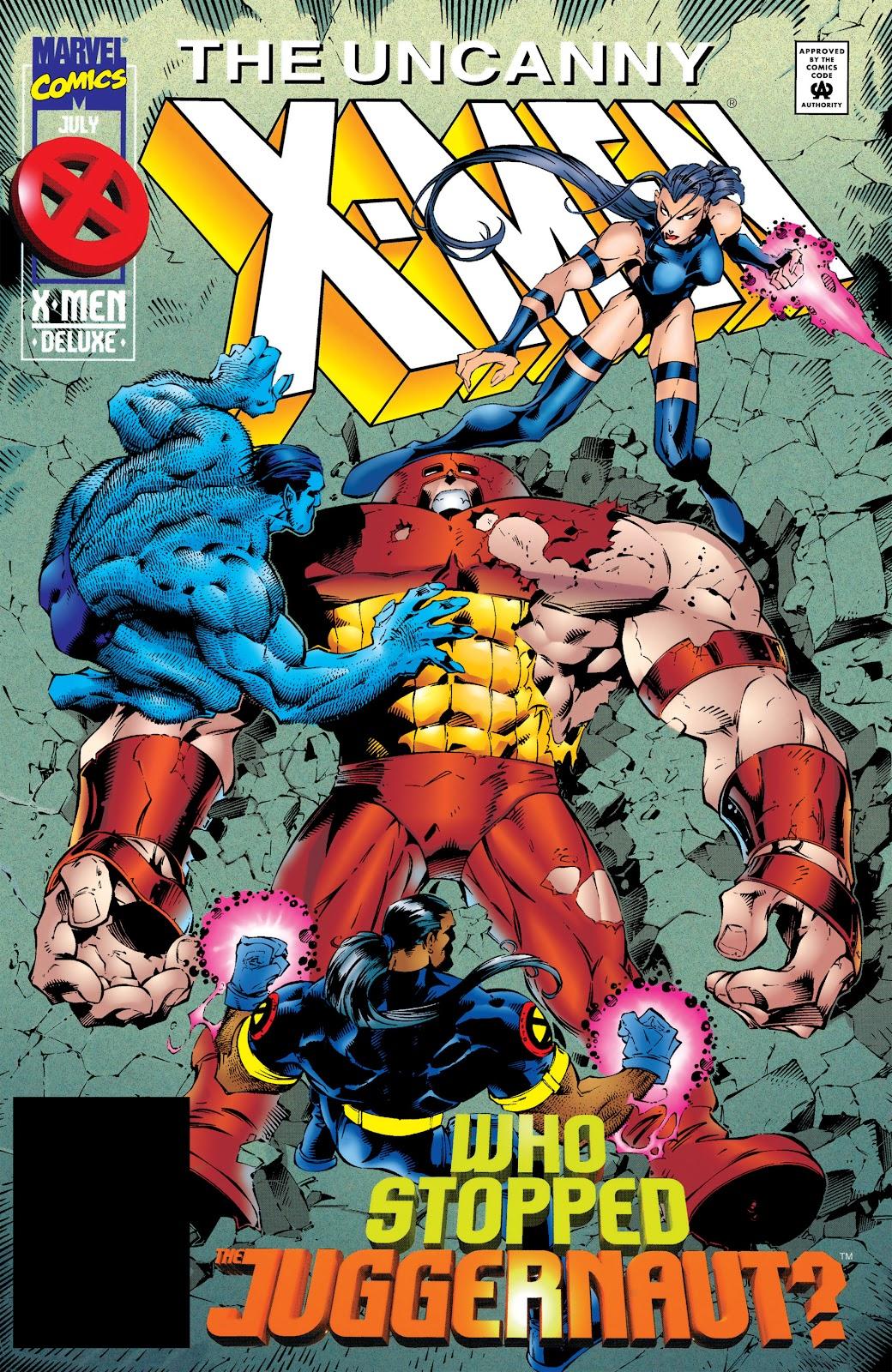 Uncanny X-Men (1963) 322 Page 1