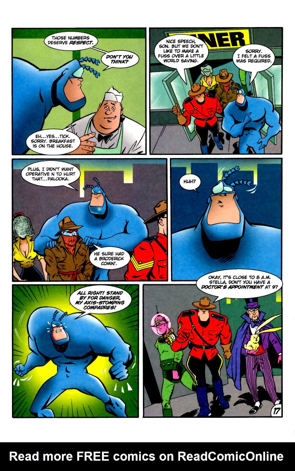 Read online The Tick: Days of Drama comic -  Issue #2 - 19