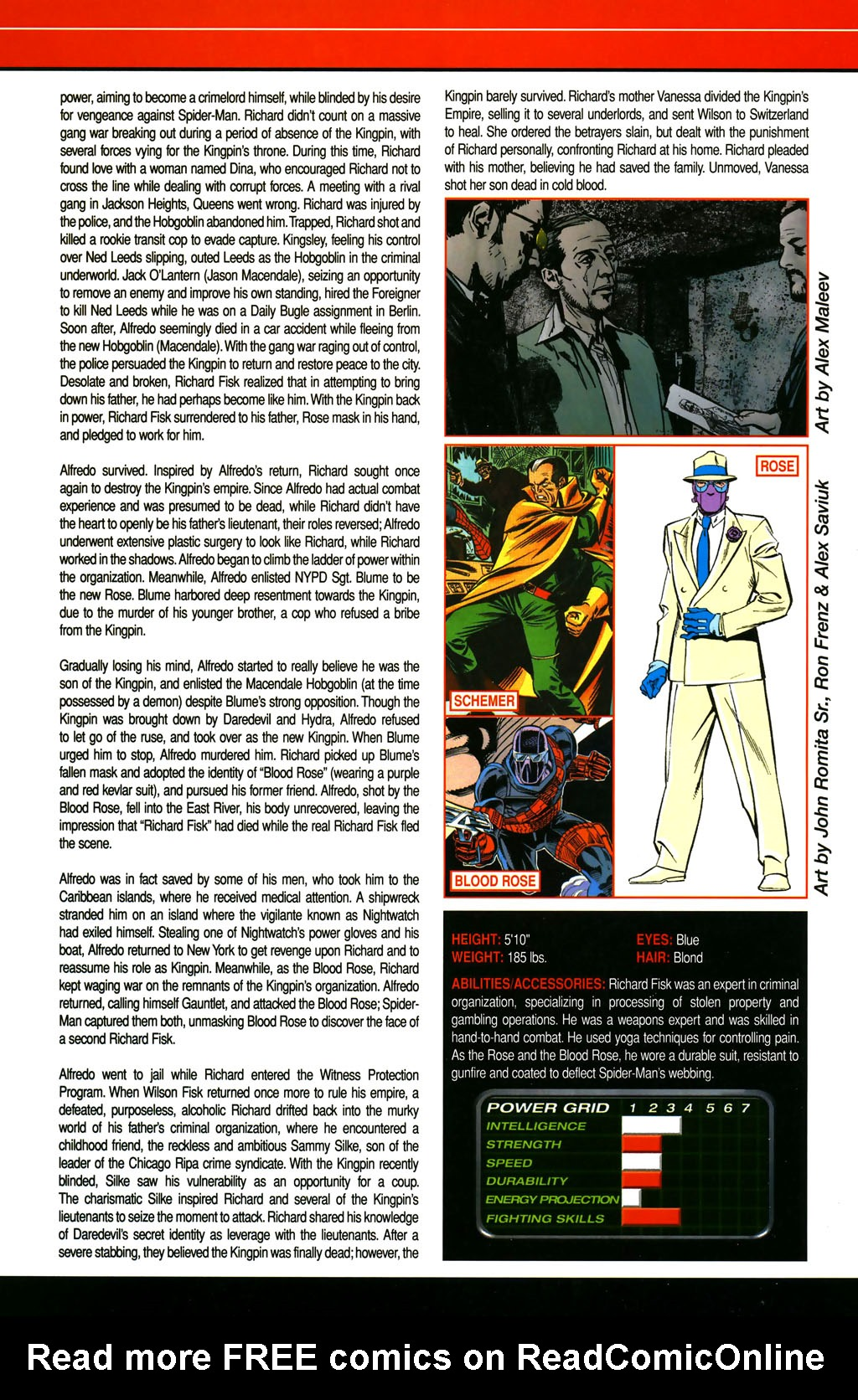 Read online All-New Official Handbook of the Marvel Universe A to Z comic -  Issue #4 - 34