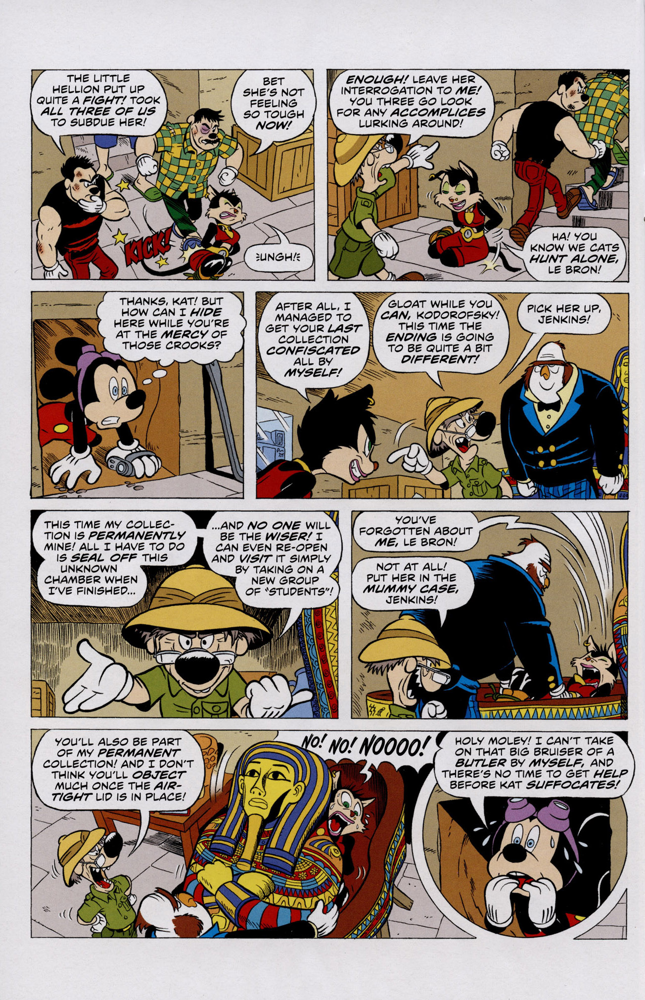 Read online Mickey Mouse (2011) comic -  Issue #306 - 10