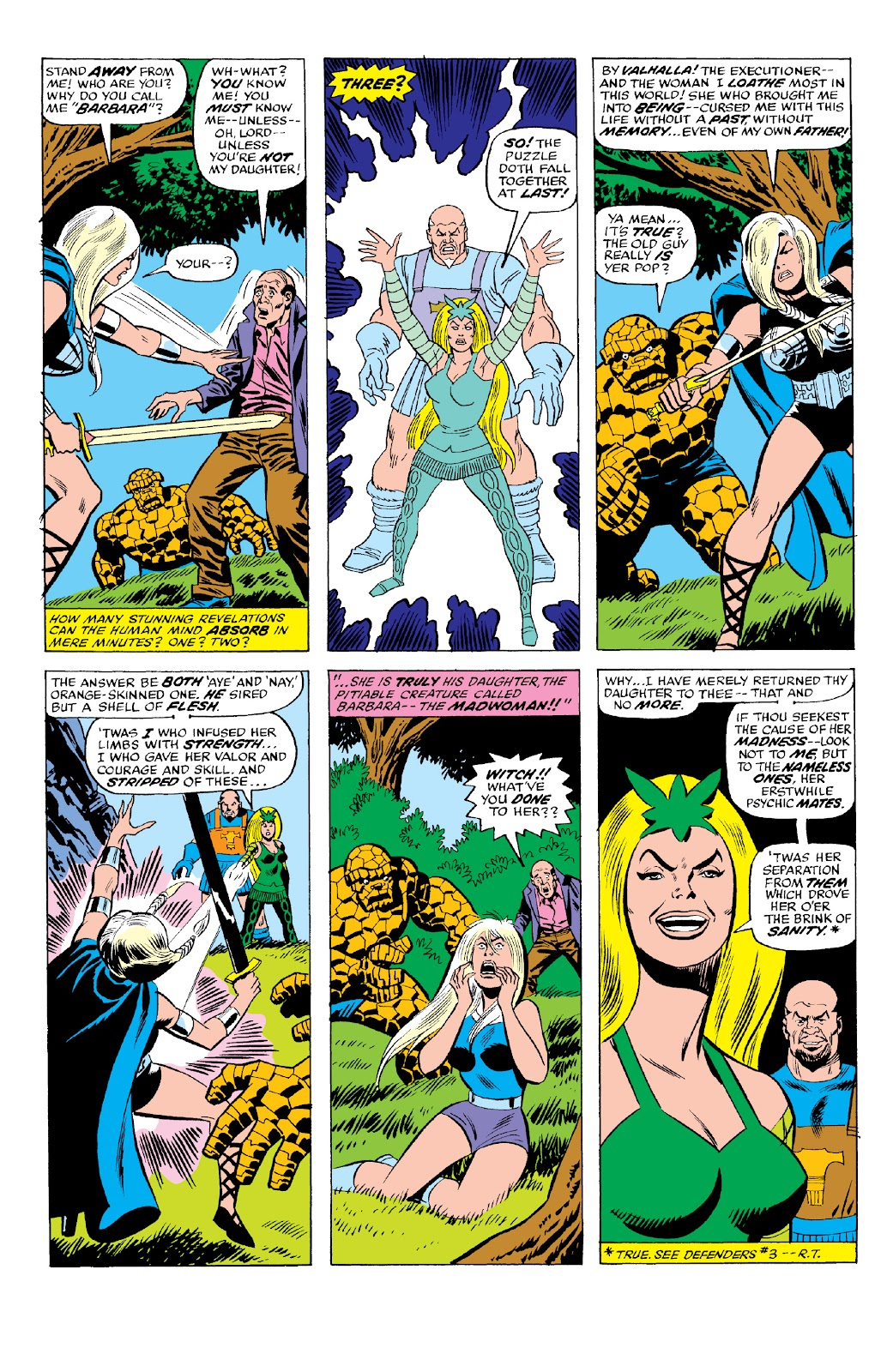Read online Marvel Two-In-One Epic Collection: Cry Monster comic -  Issue # TPB (Part 2) - 73