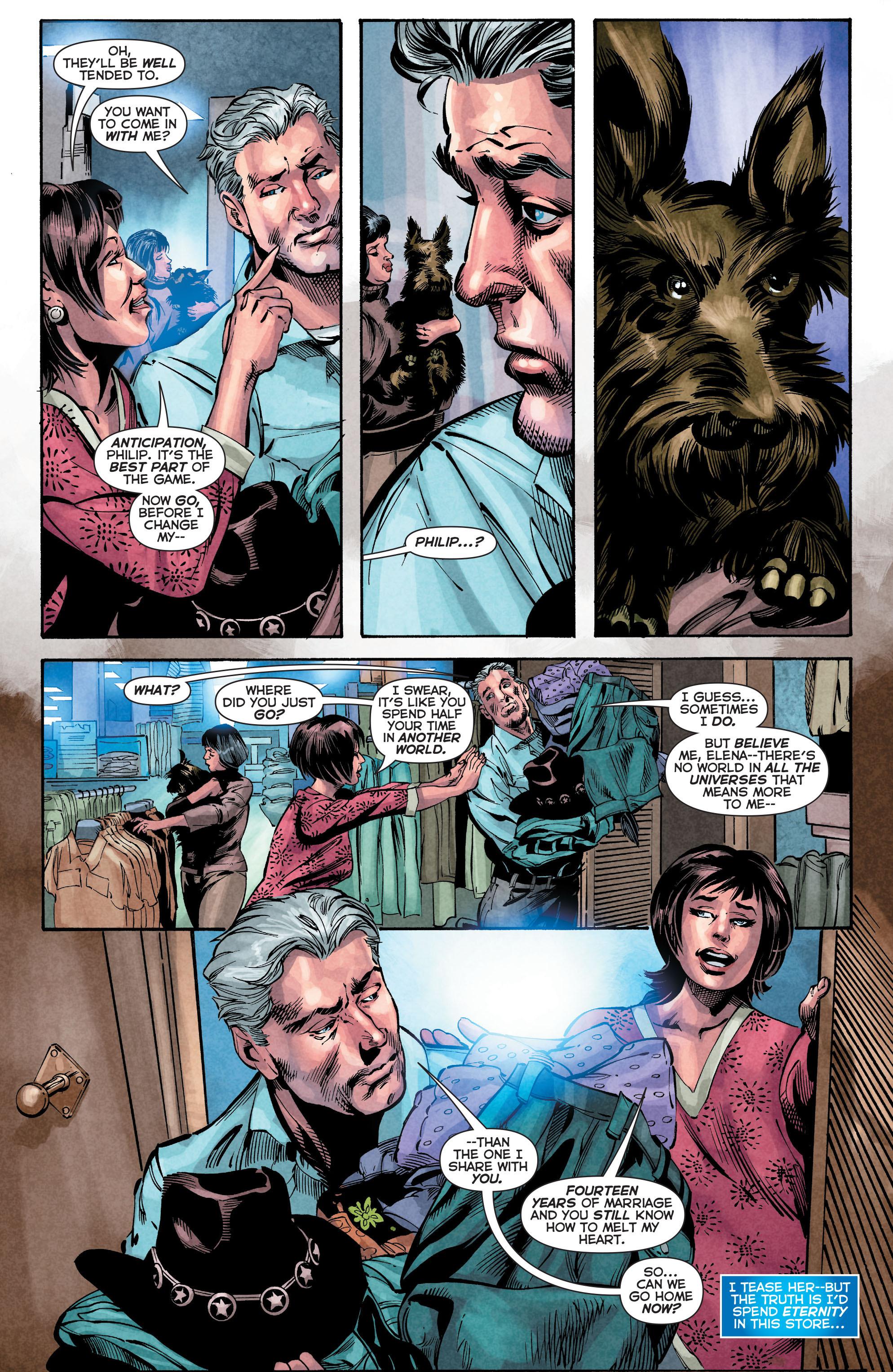 Read online Trinity of Sin: The Phantom Stranger comic -  Issue #4 - 6