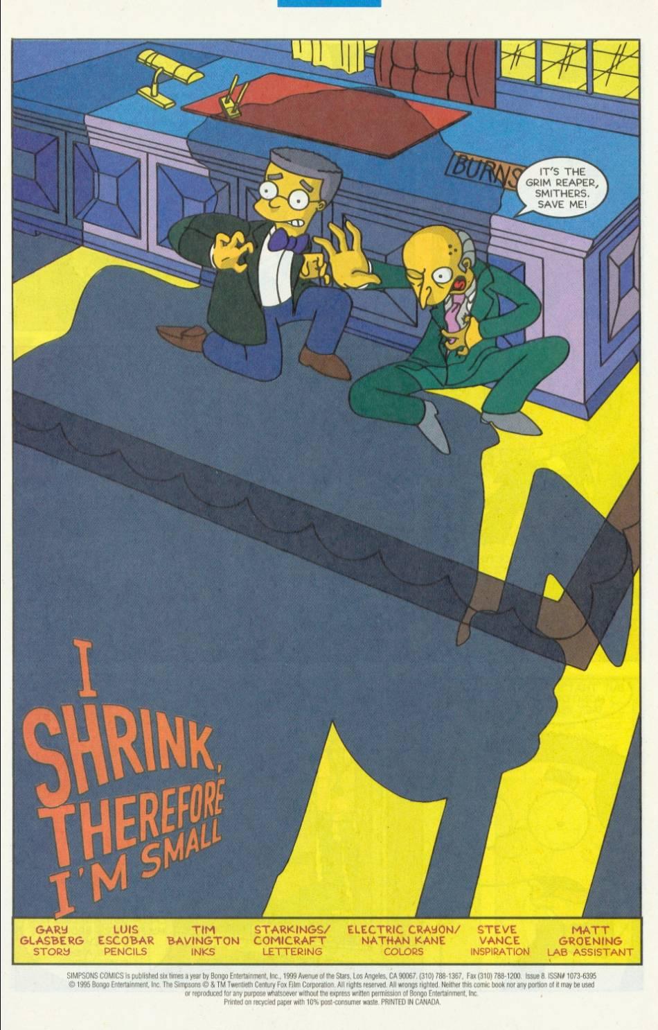 Read online Simpsons Comics comic -  Issue #8 - 2