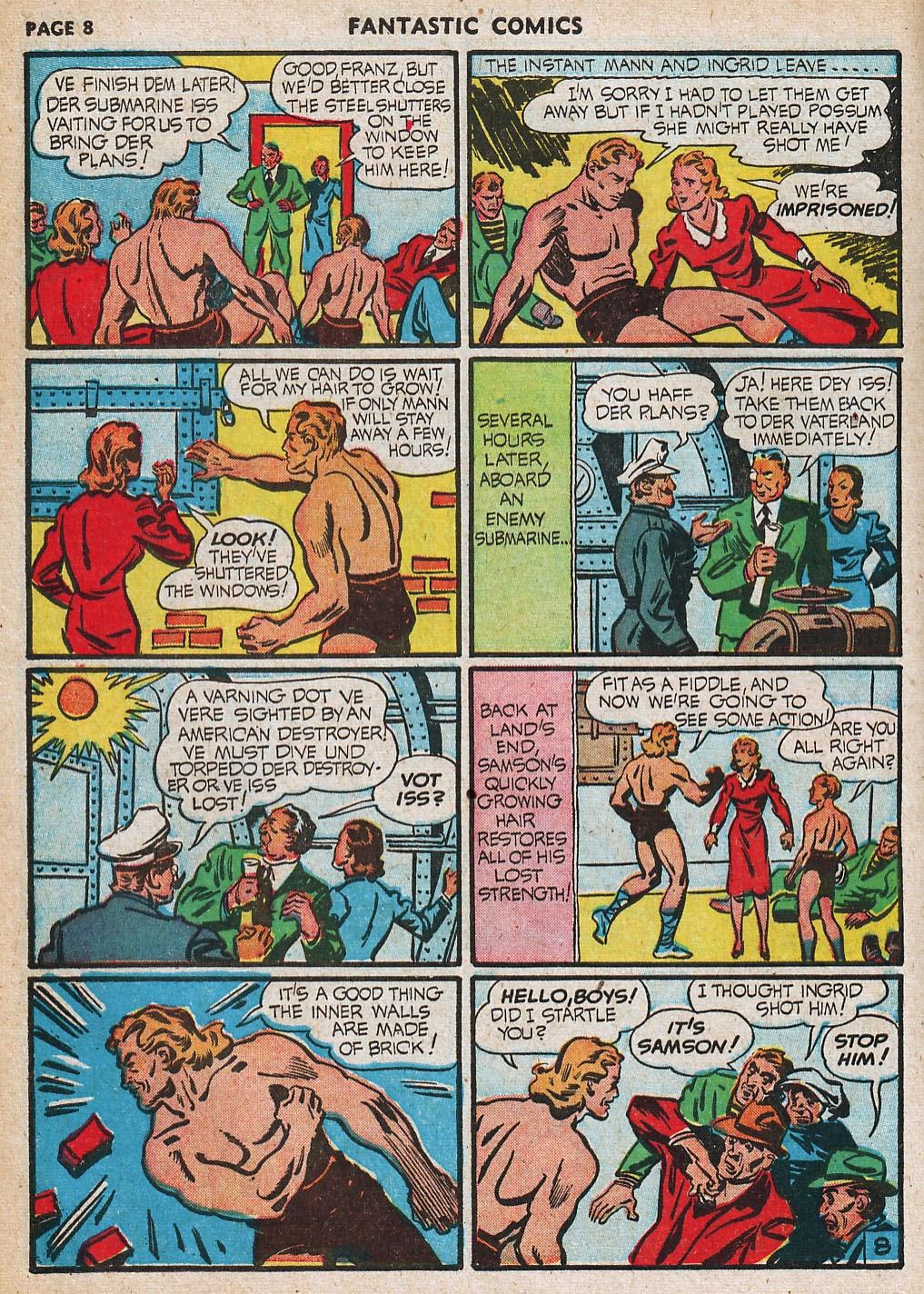 Read online Fantastic Comics comic -  Issue #20 - 9