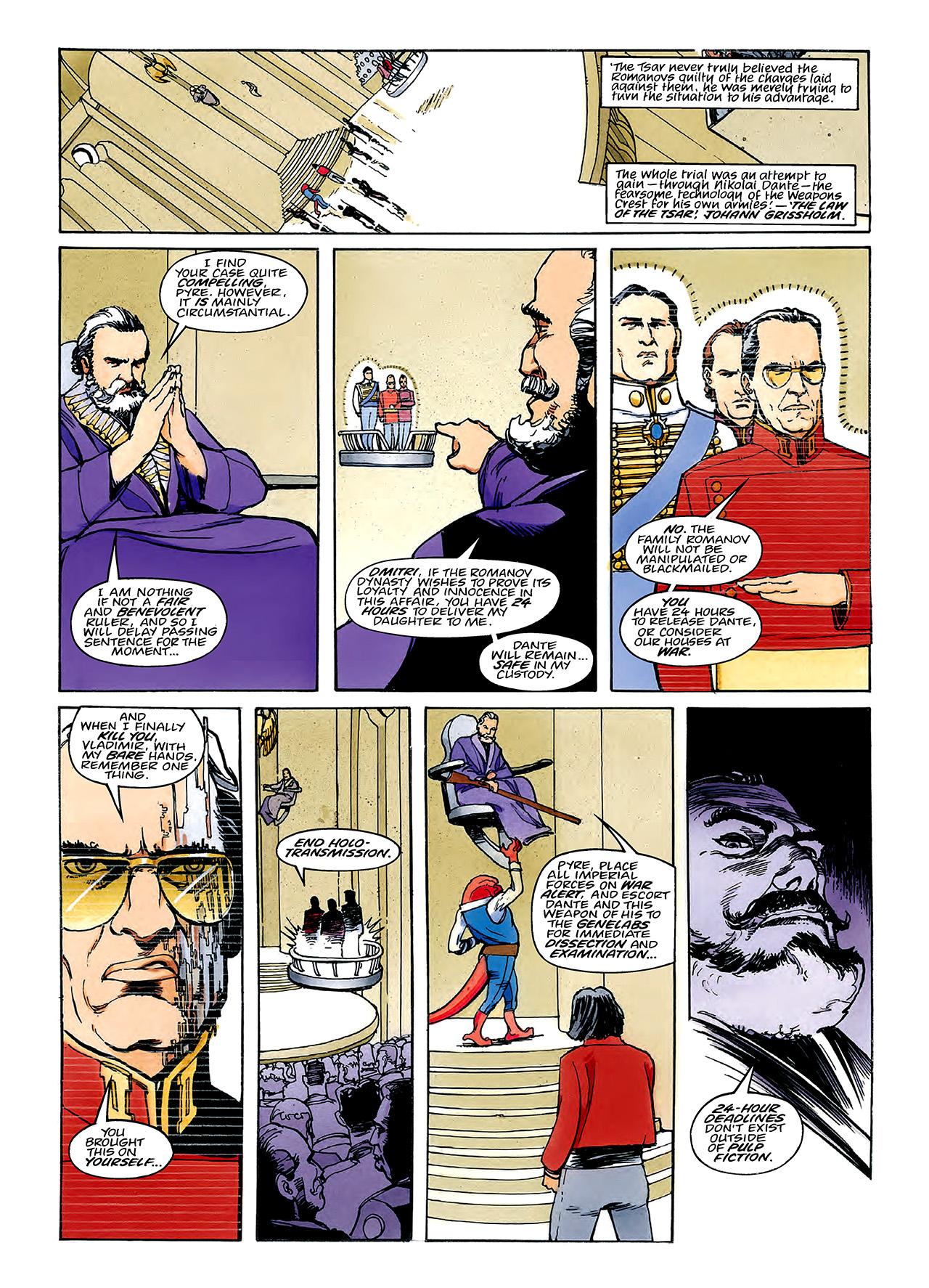 Read online Nikolai Dante comic -  Issue # TPB 3 - 89