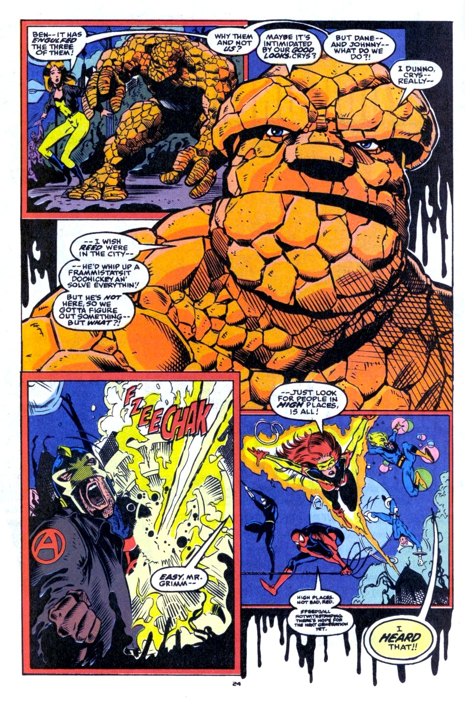 The New Warriors Issue #33 #37 - English 19