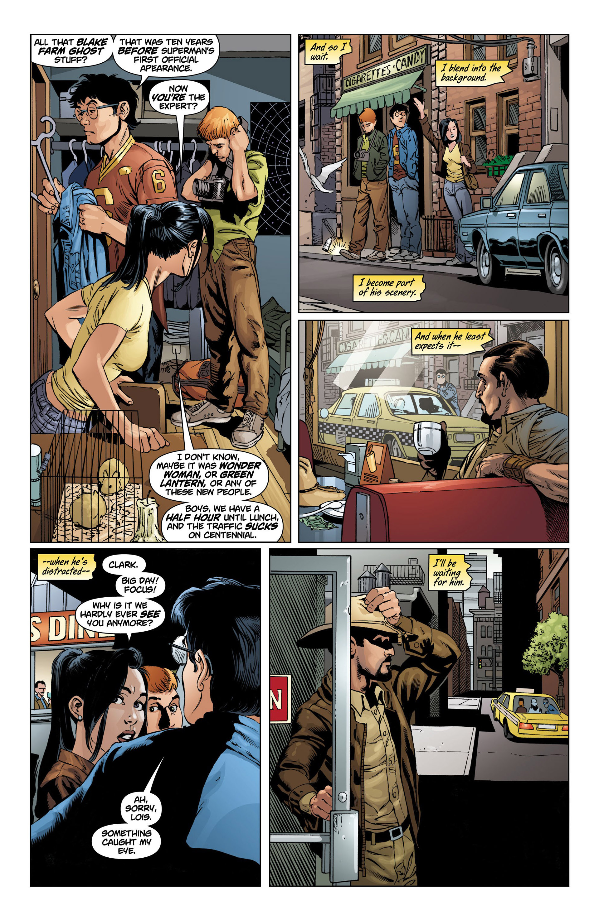 Read online Action Comics (2011) comic -  Issue #10 - 11