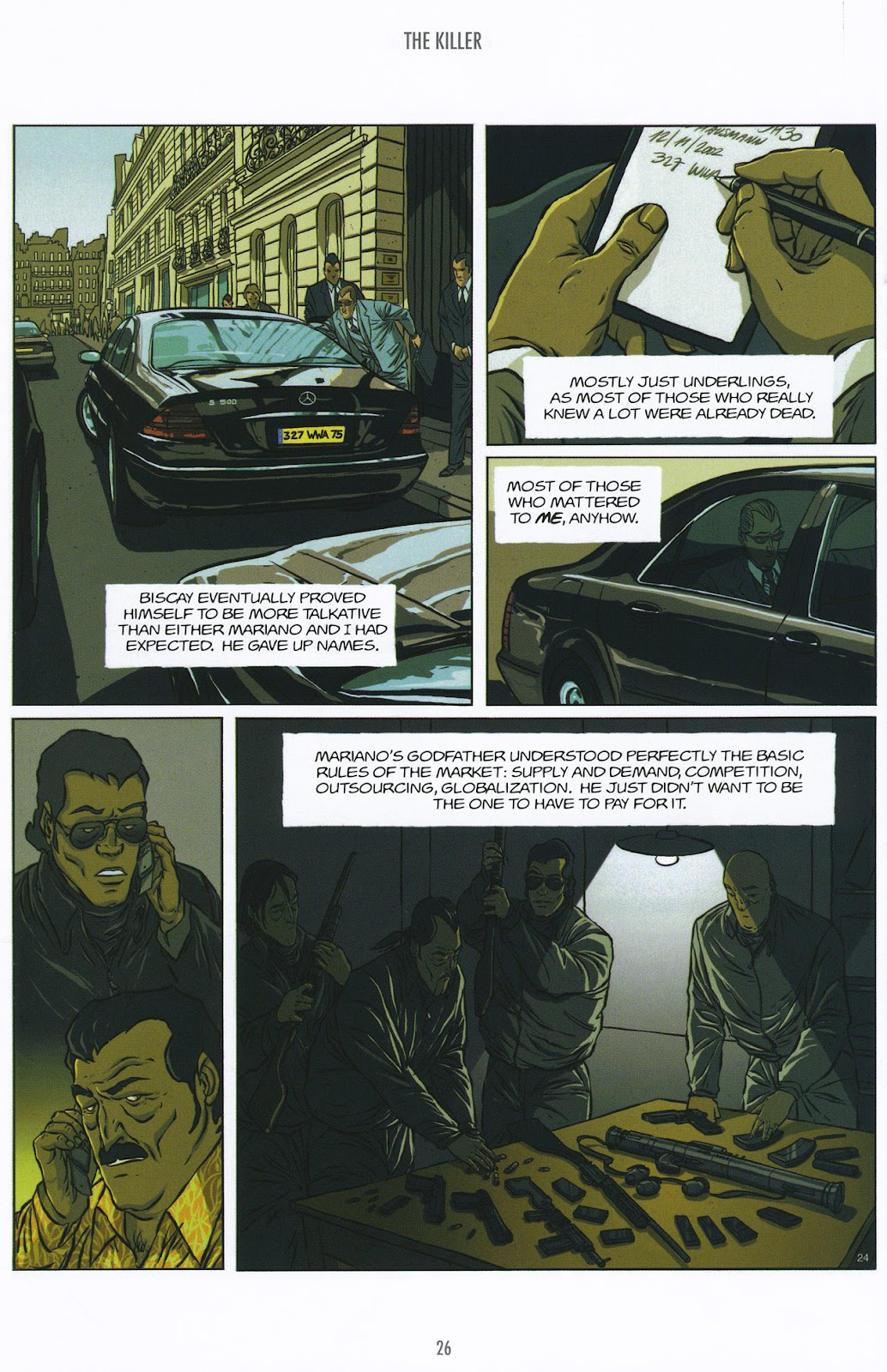 Read online The Killer comic -  Issue #9 - 26