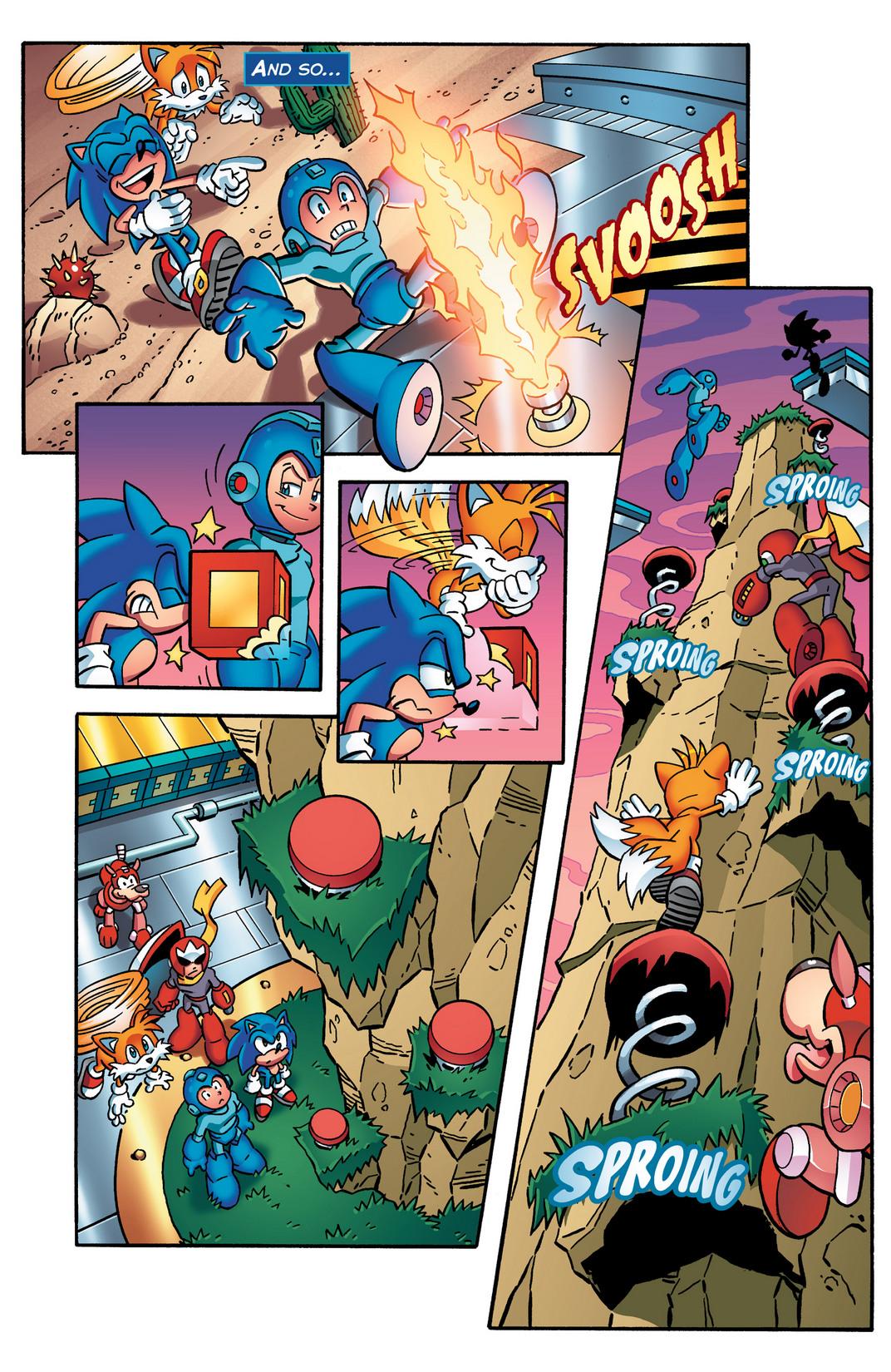 Read online Sonic Mega Man Worlds Collide comic -  Issue # Vol 2 - 27