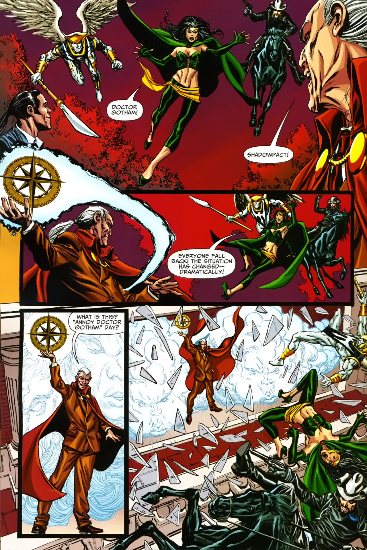 Read online Shadowpact comic -  Issue #19 - 7