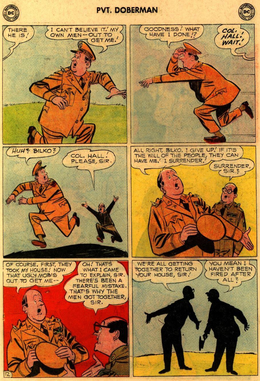 Sgt. Bilko's Pvt. Doberman issue 9 - Page 16