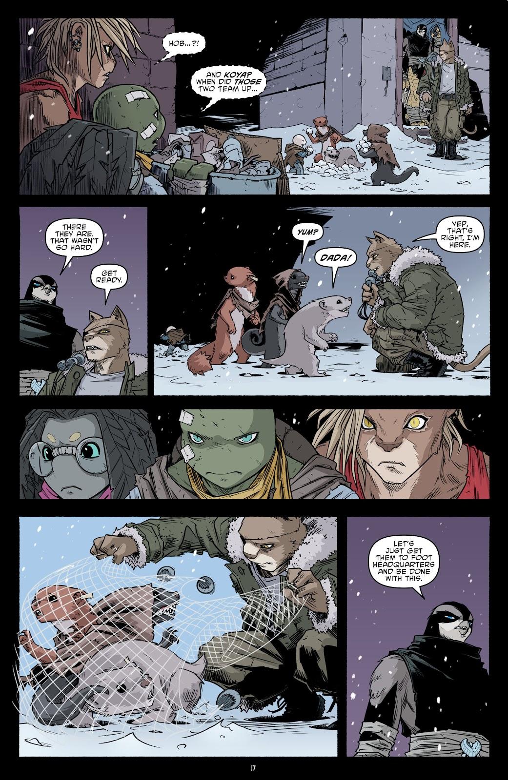 Read online Teenage Mutant Ninja Turtles (2011) comic -  Issue #103 - 19