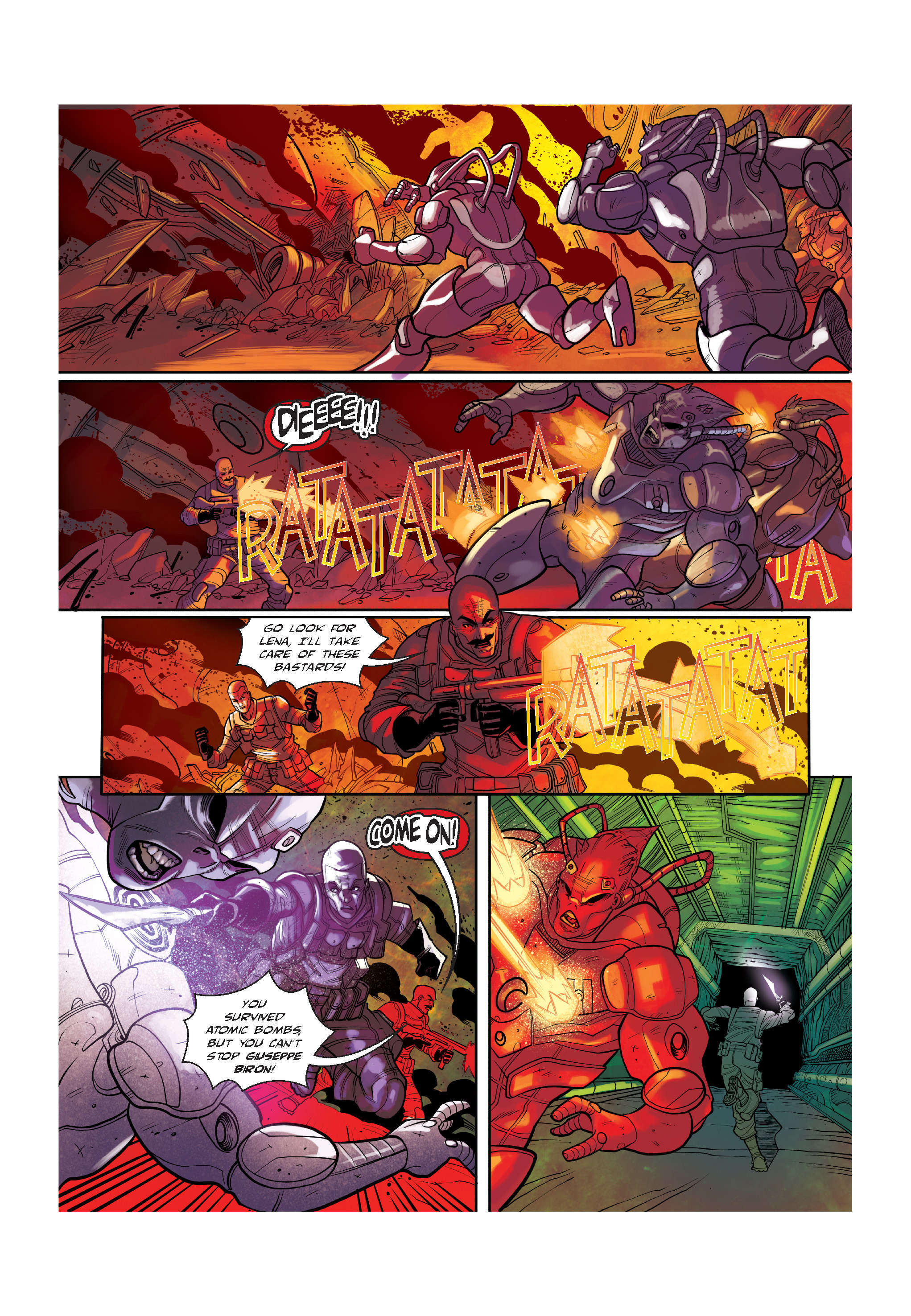 Read online The Shadow of a Terrible Thing comic -  Issue # TPB - 121