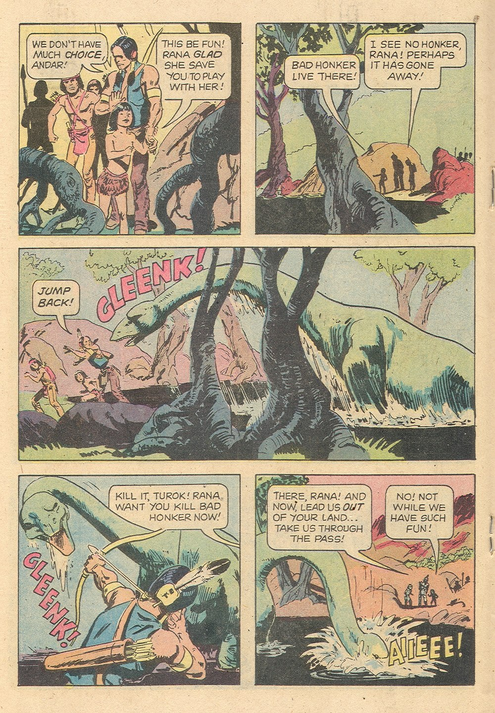 Read online Turok, Son of Stone comic -  Issue #129 - 18