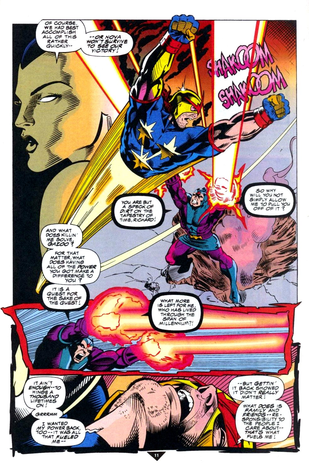 The New Warriors Issue #50 #54 - English 9
