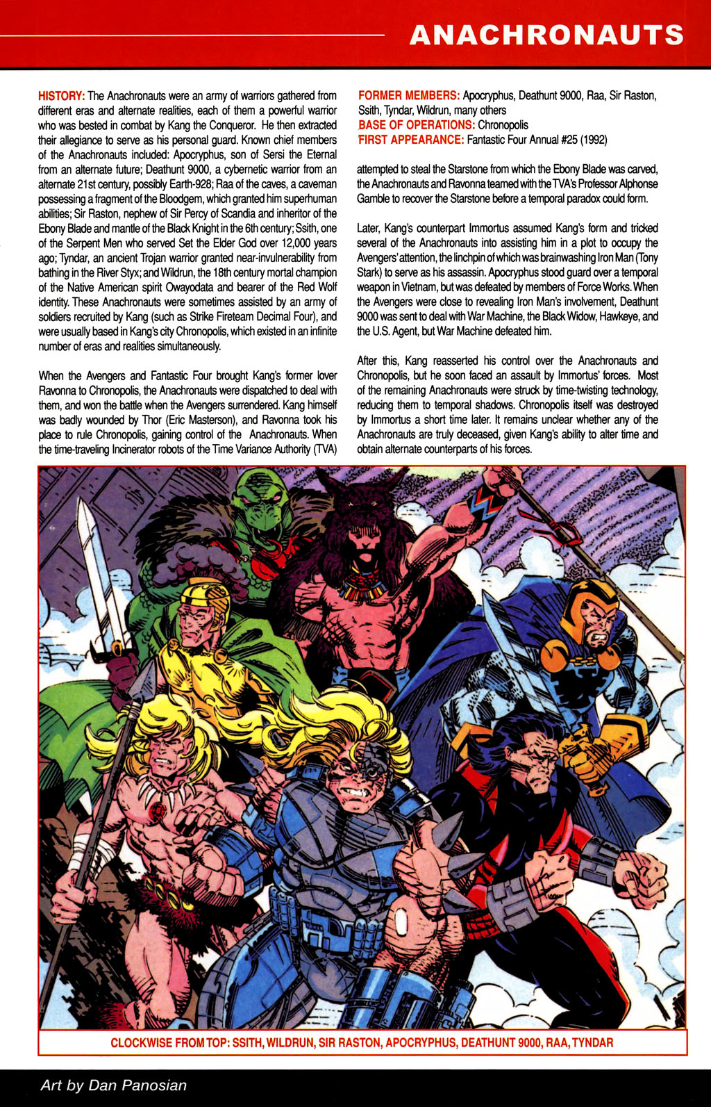 Read online All-New Official Handbook of the Marvel Universe A to Z comic -  Issue #1 - 21