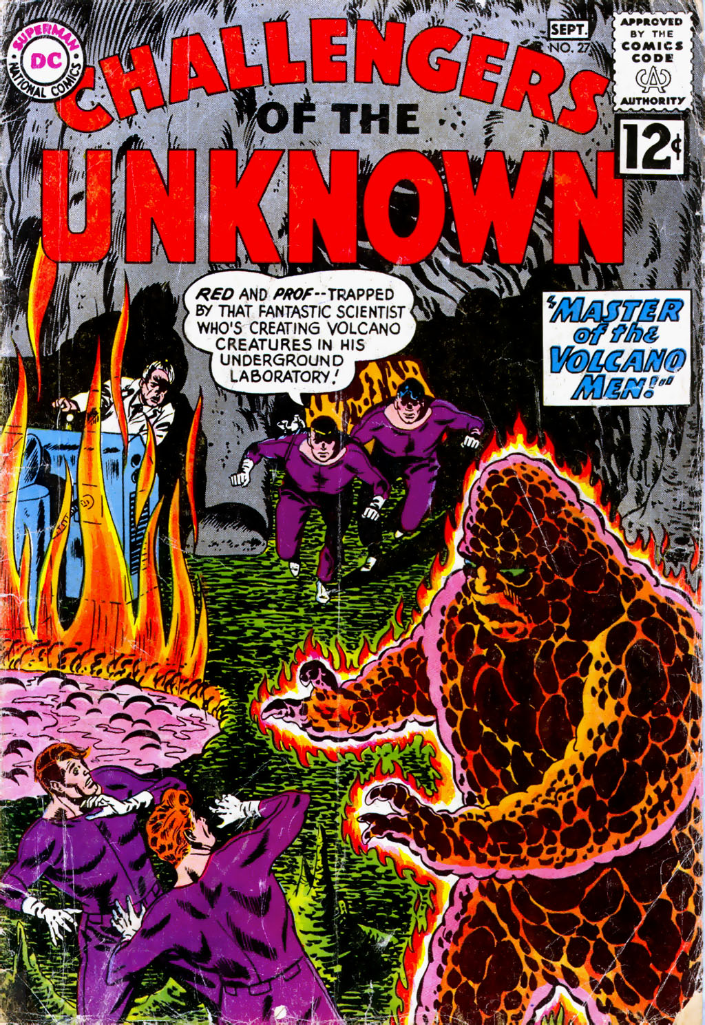 Challengers of the Unknown (1958) 27 Page 1