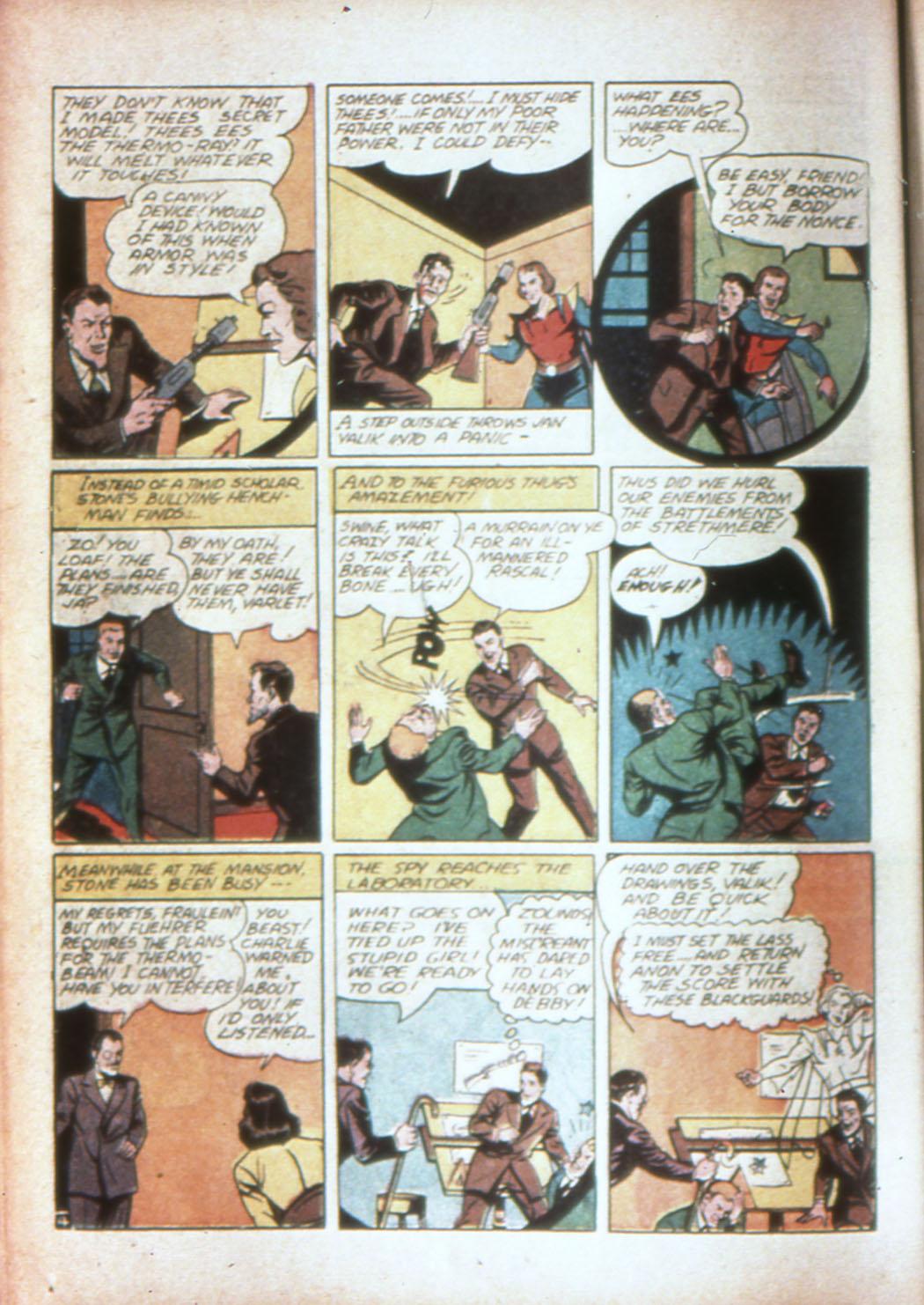 Read online Sensation (Mystery) Comics comic -  Issue #19 - 28