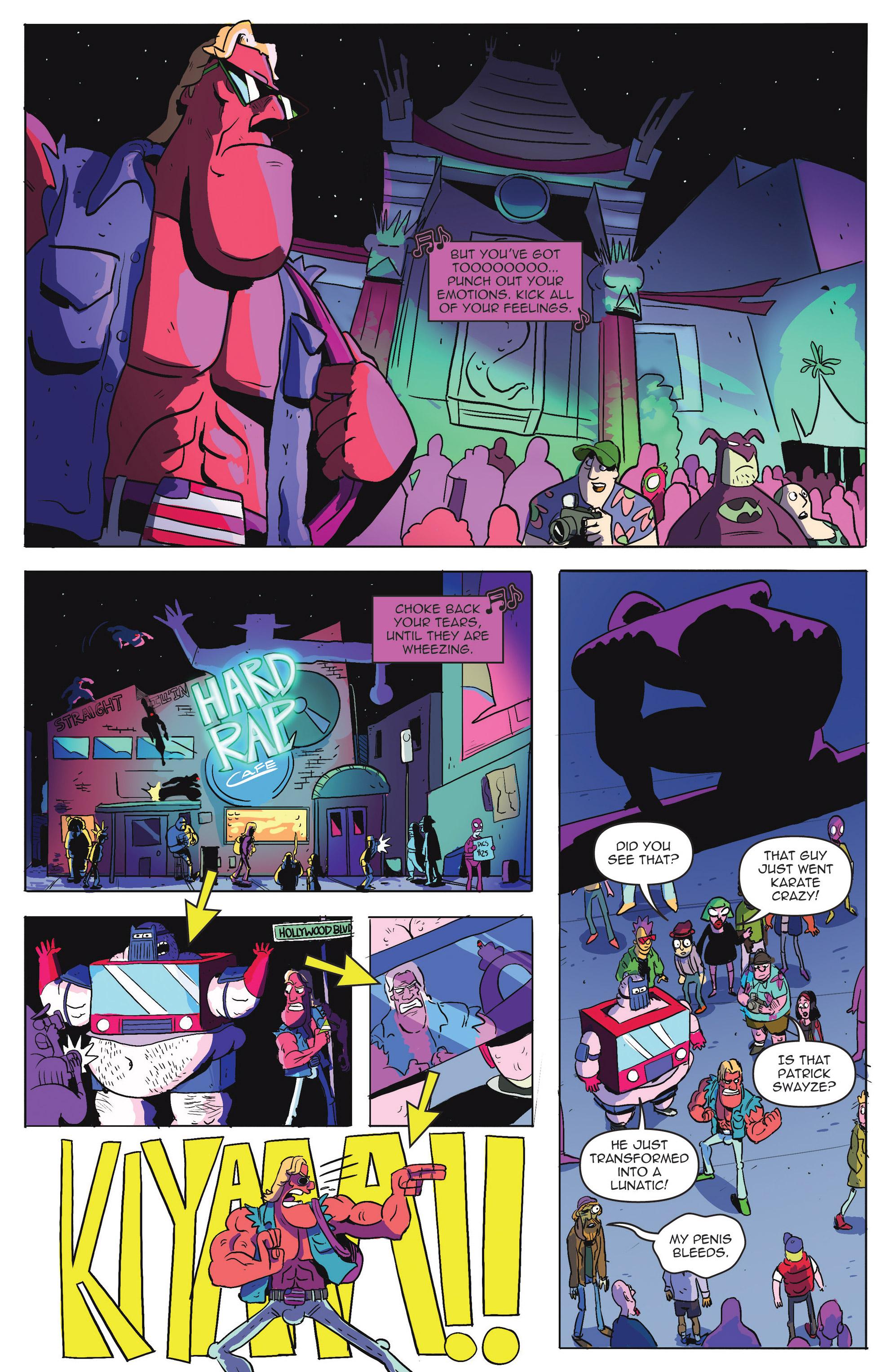 Read online AmeriKarate comic -  Issue #2 - 4