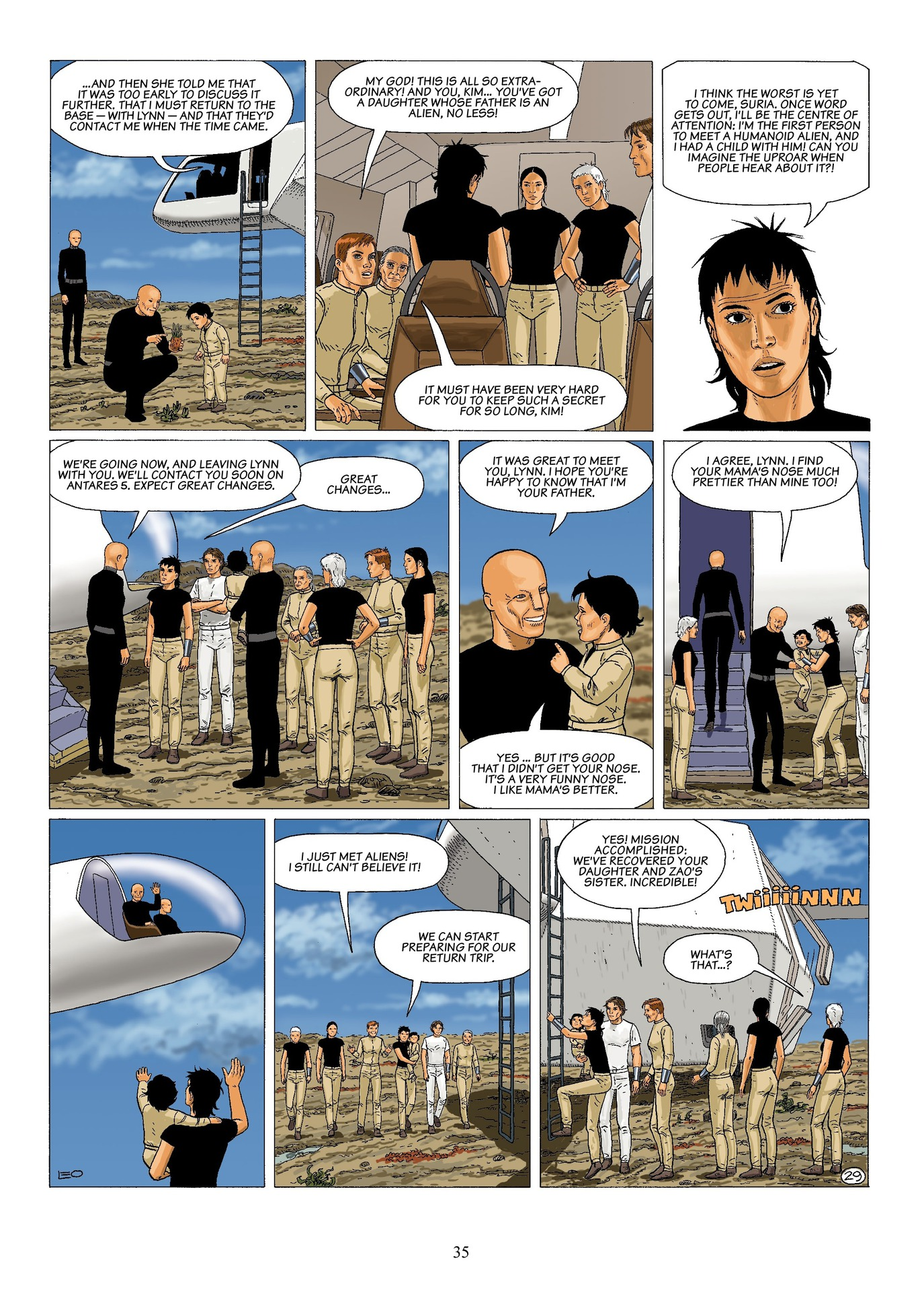 Read online Antares comic -  Issue #6 - 37