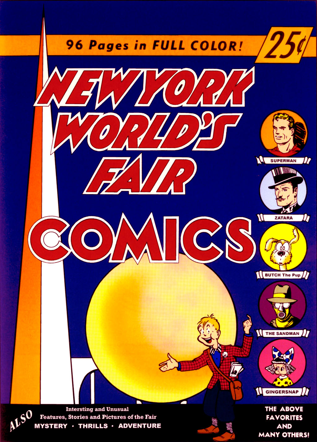 The New York Worlds Fair Comics 1 Page 1
