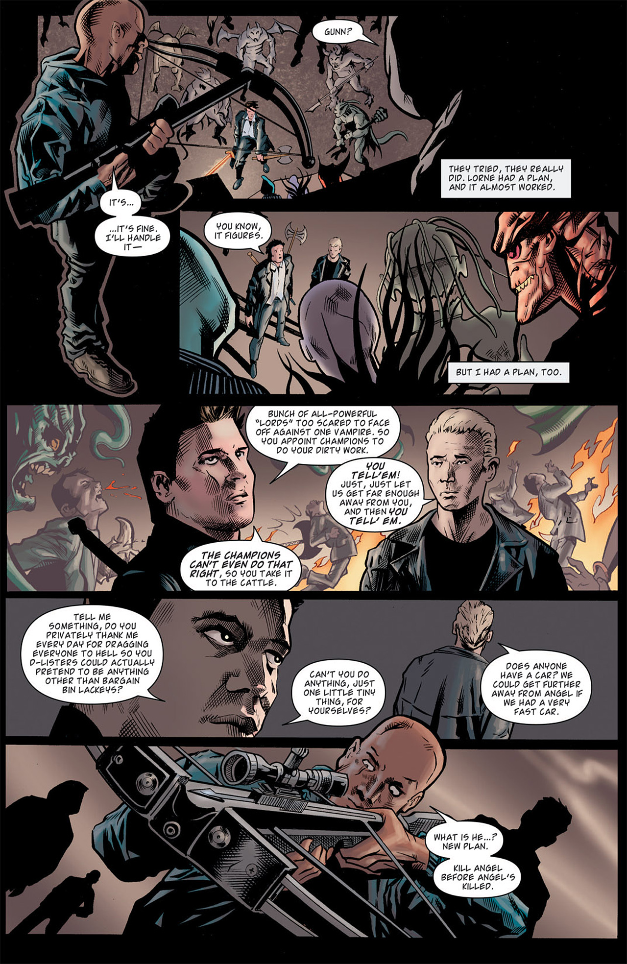 Read online Angel: After The Fall comic -  Issue #9 - 9
