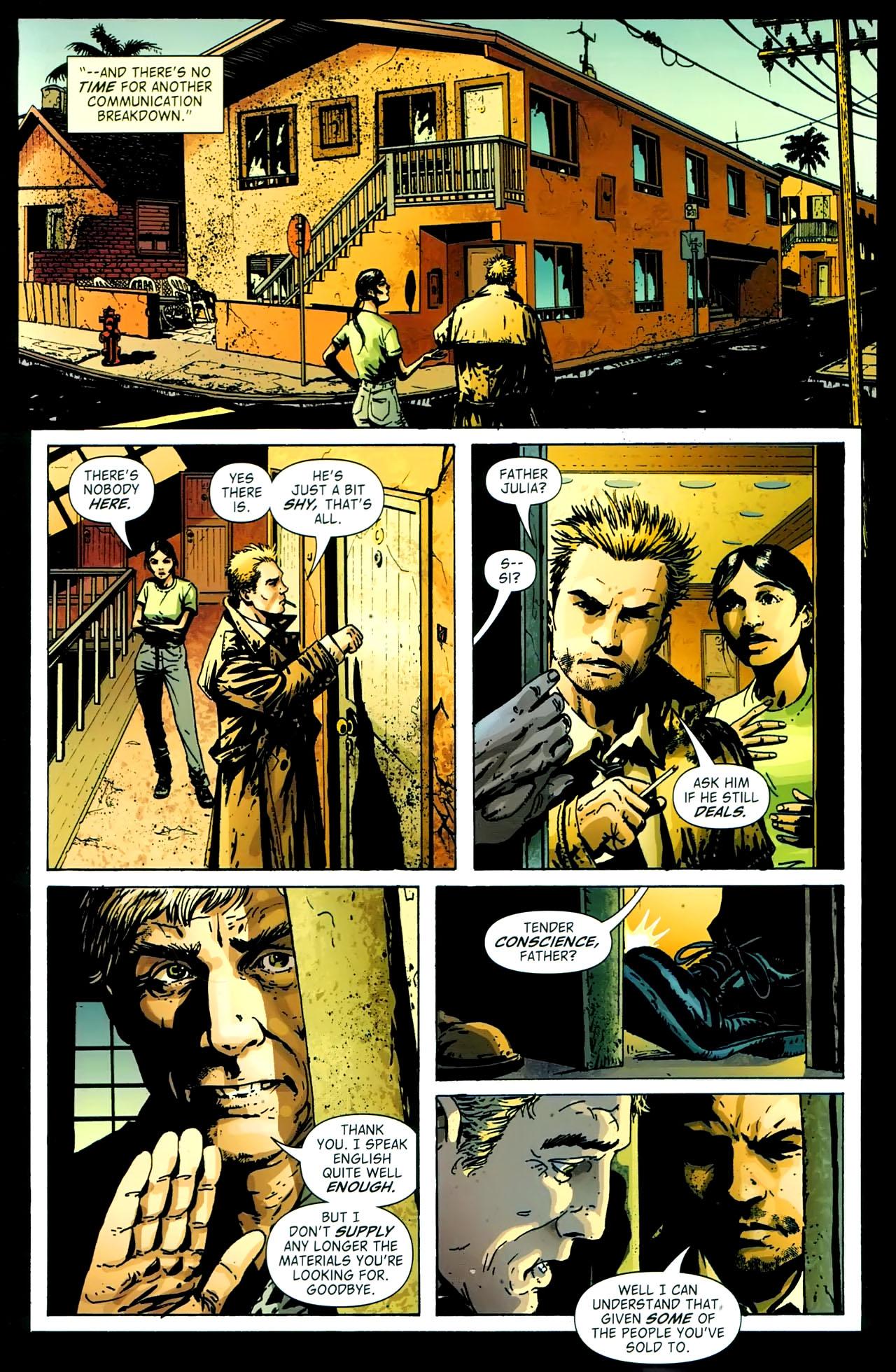 Read online John Constantine Hellblazer: All His Engines comic -  Issue # Full - 74