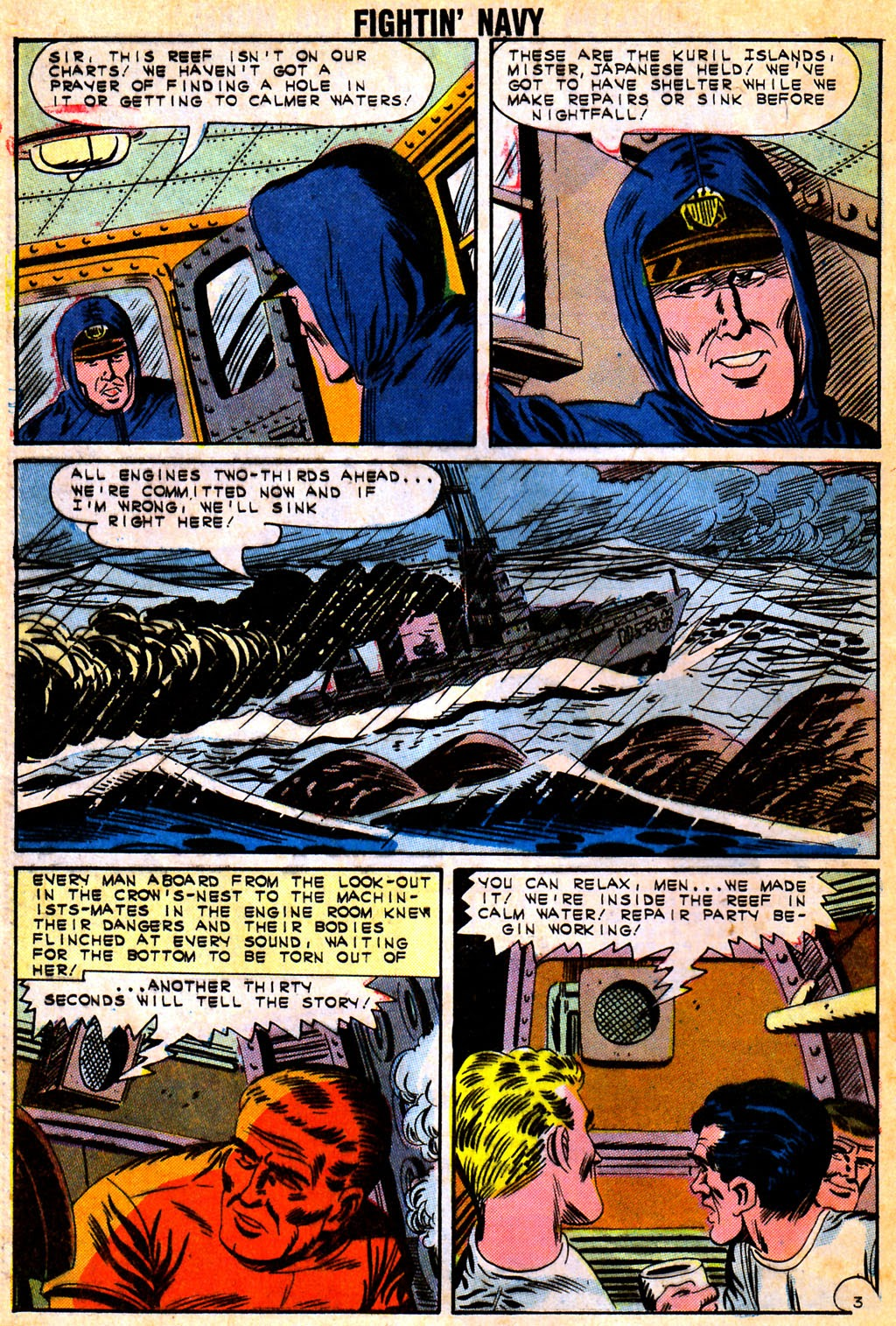 Read online Fightin' Navy comic -  Issue #111 - 24