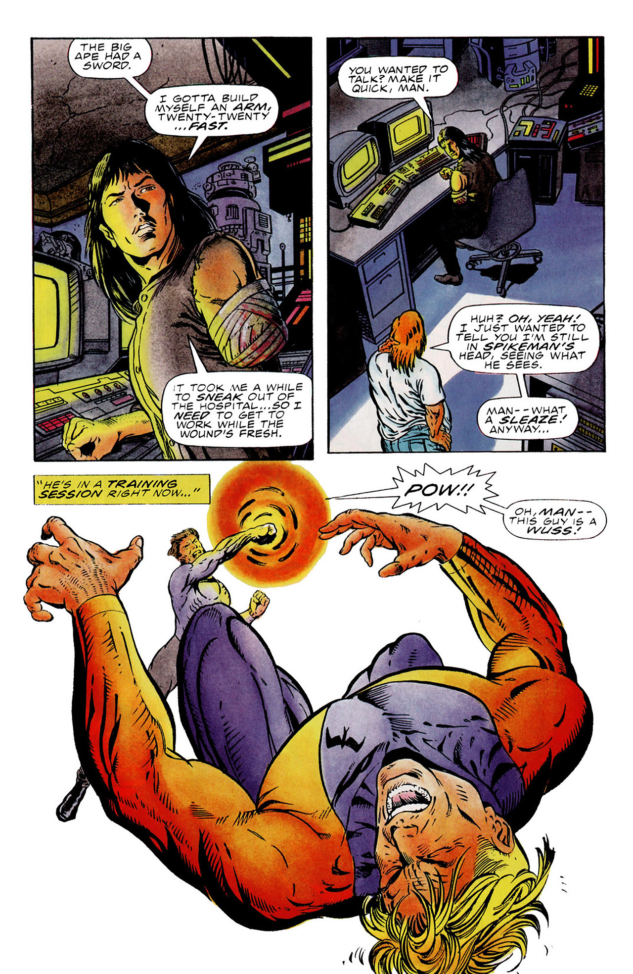 Read online Harbinger (1992) comic -  Issue #15 - 4