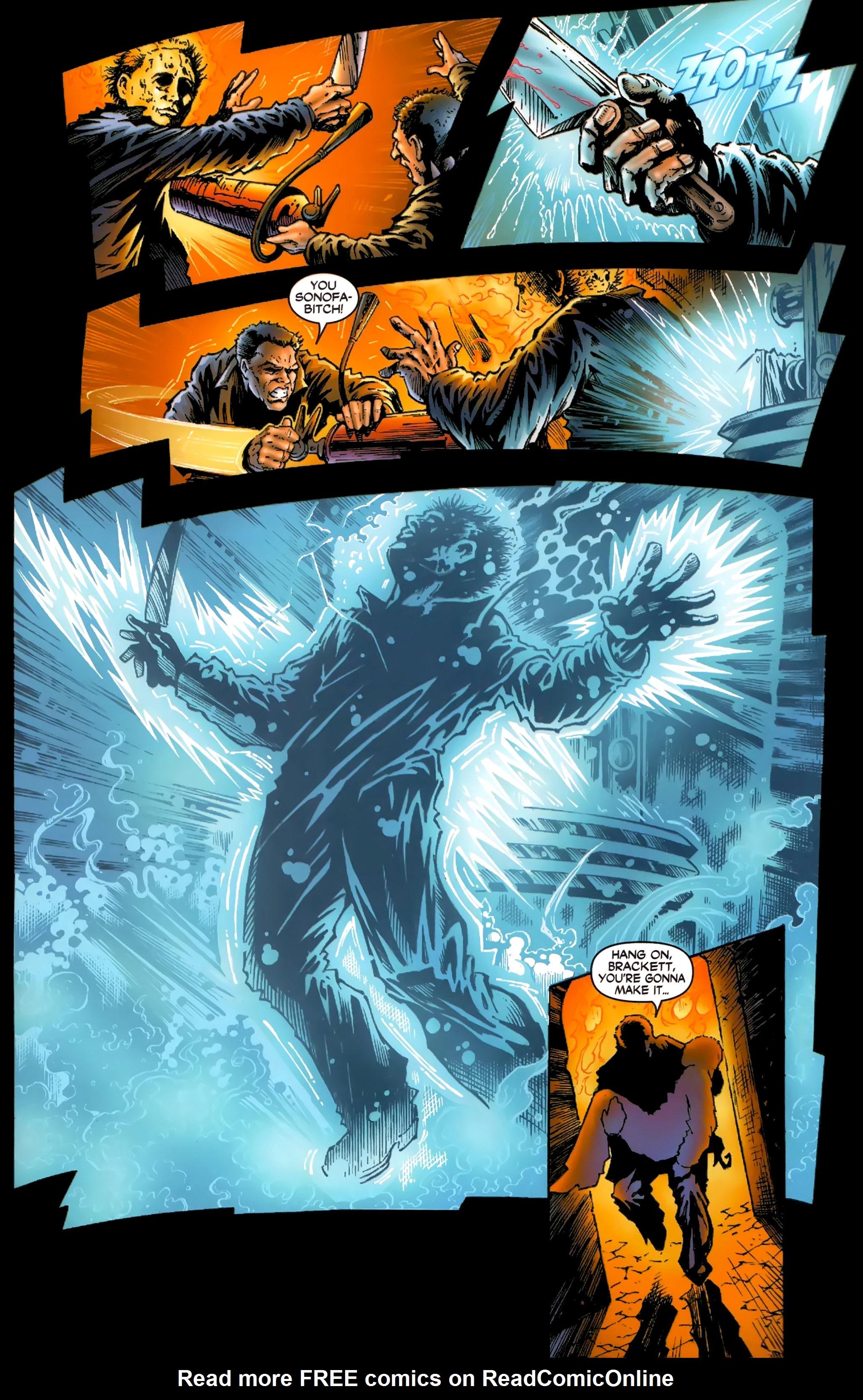 Read online Halloween II: The Blackest Eyes comic -  Issue # Full - 23