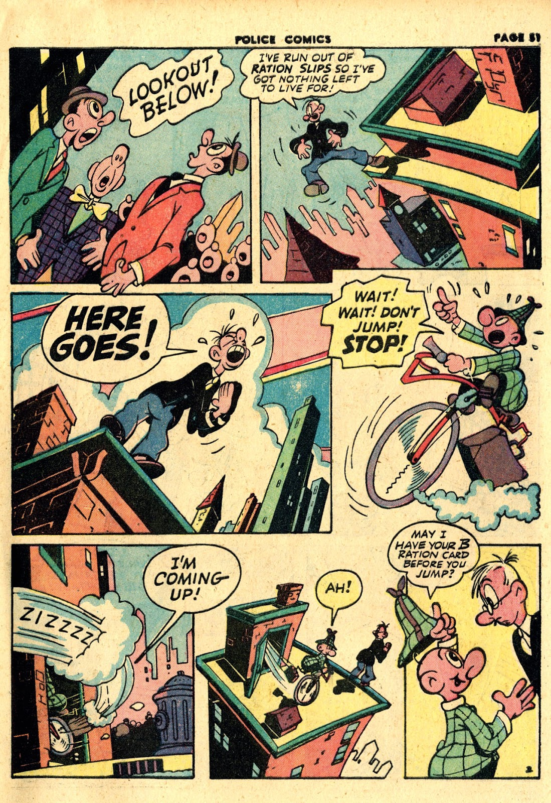 Police Comics issue 19 - Page 53