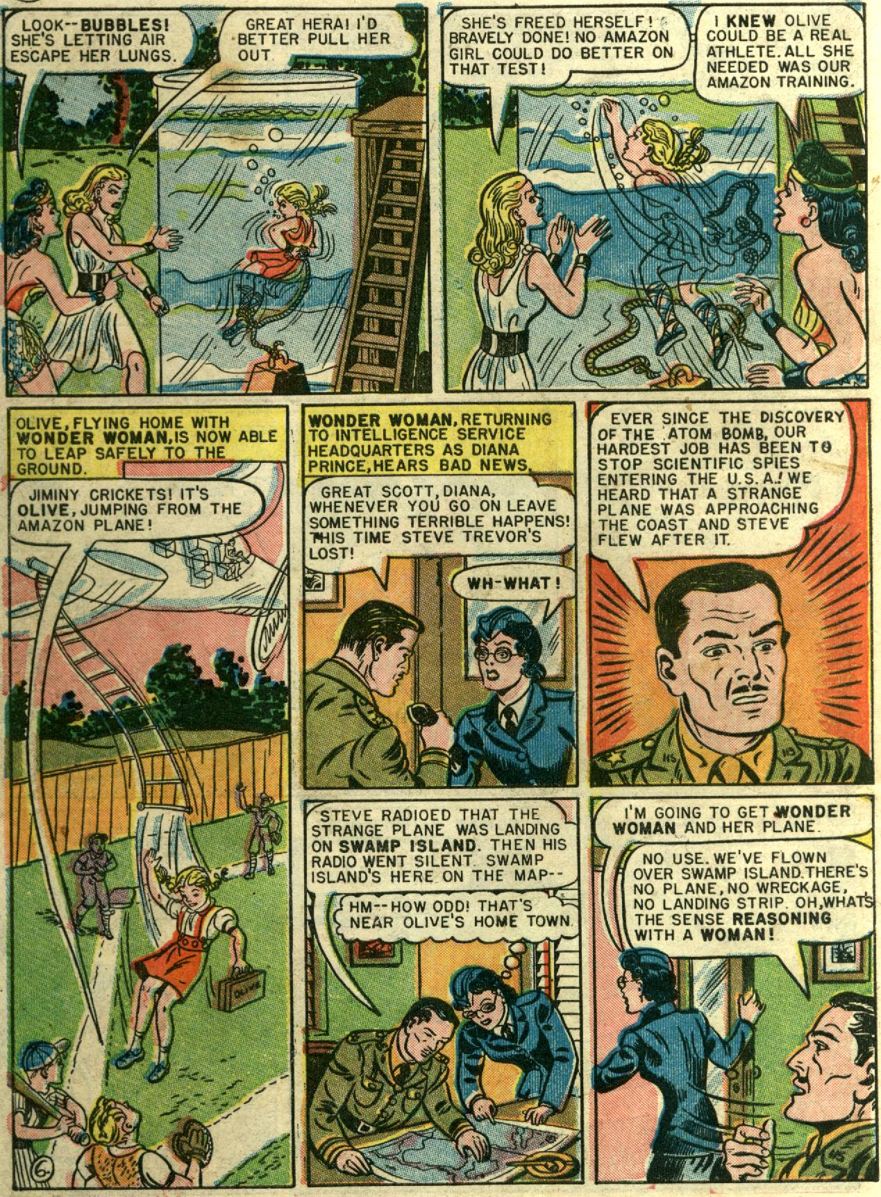Read online Sensation (Mystery) Comics comic -  Issue #58 - 8