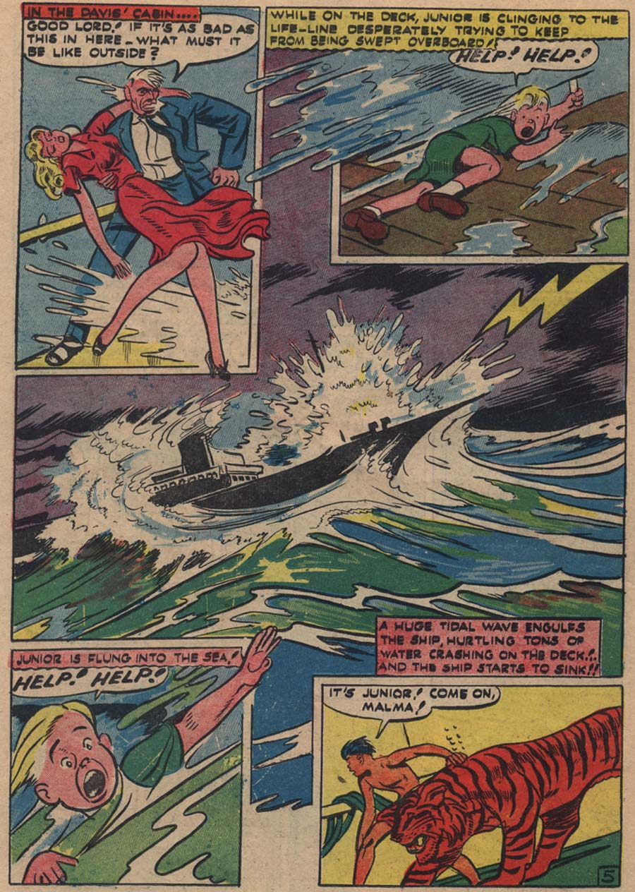 Blue Ribbon Comics (1939) issue 18 - Page 41