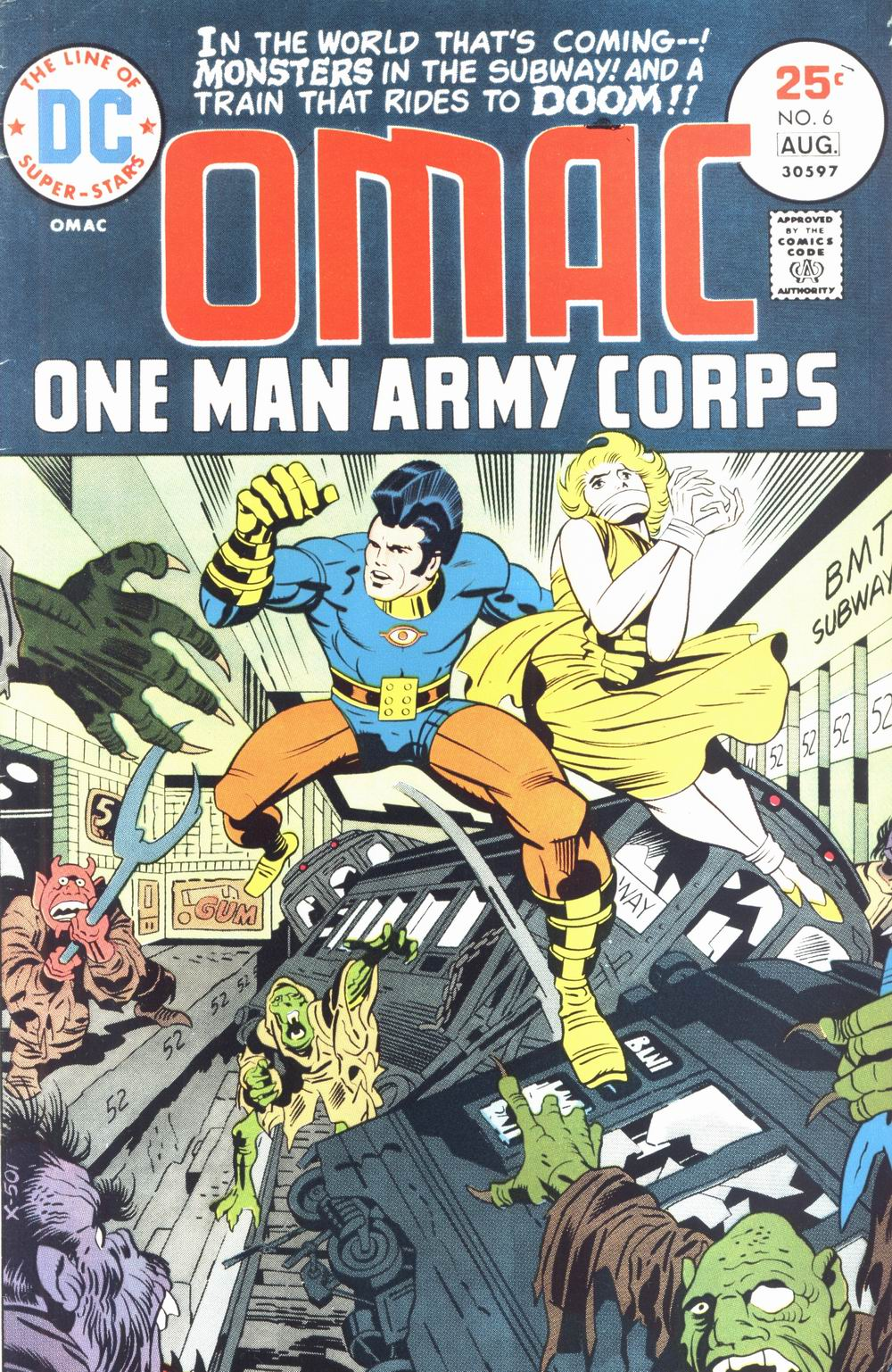 OMAC (1974) issue 6 - Page 1