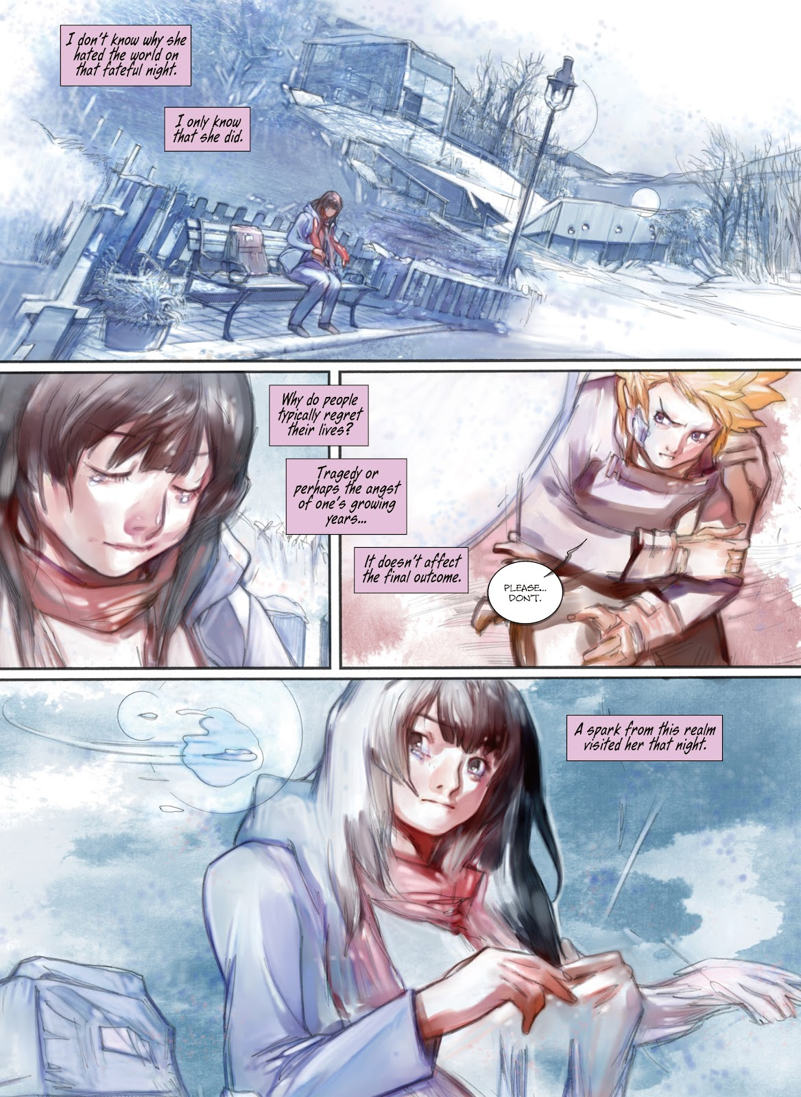 Read online Makeshift Miracle: The Girl From Nowhere comic -  Issue #12 - 8