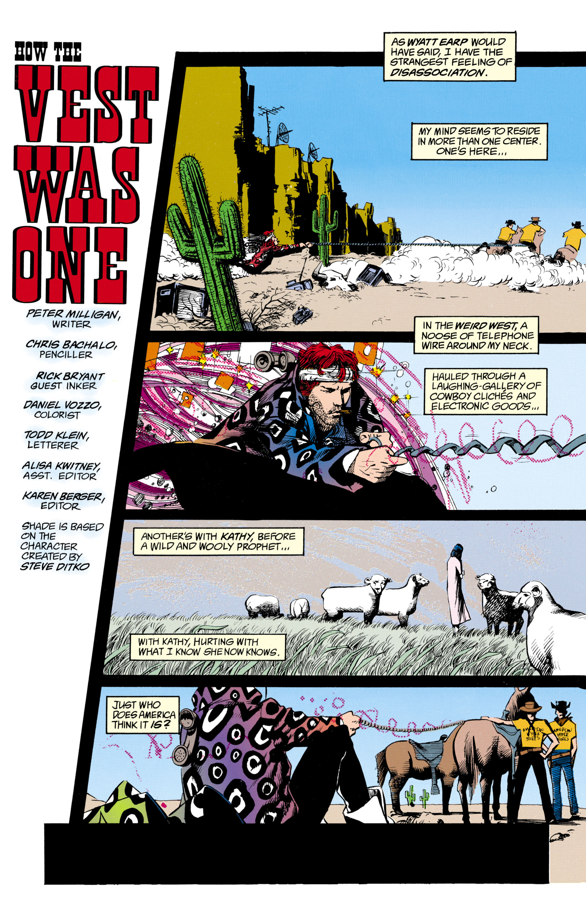 Read online Shade, the Changing Man comic -  Issue #16 - 2
