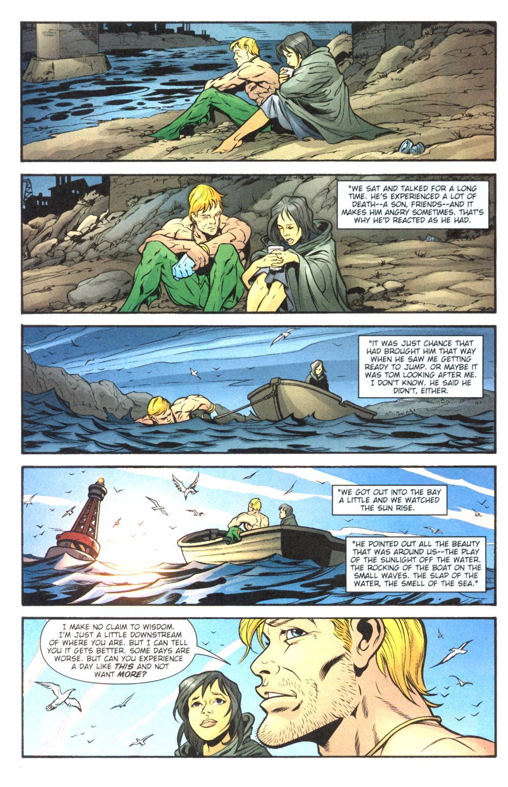 Read online Aquaman (2003) comic -  Issue #14 - 22