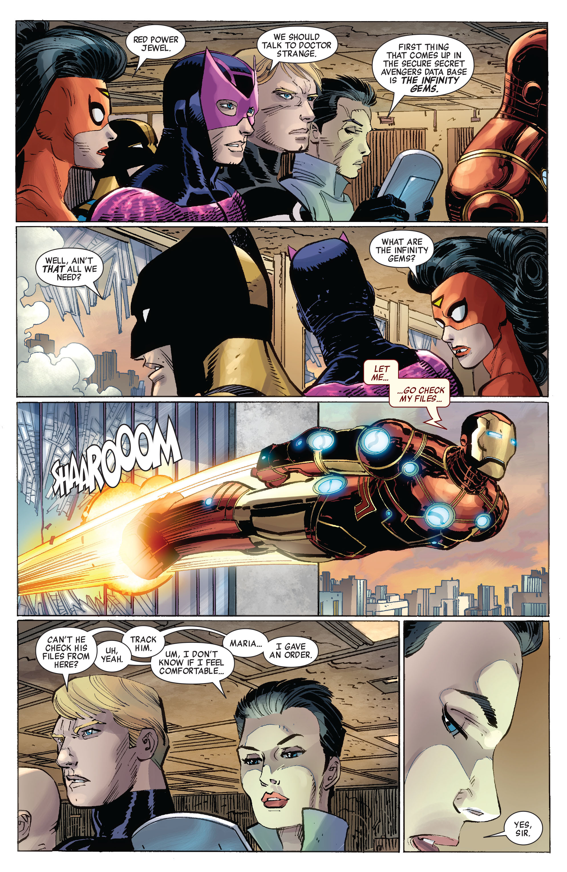 Read online Avengers (2010) comic -  Issue #8 - 17