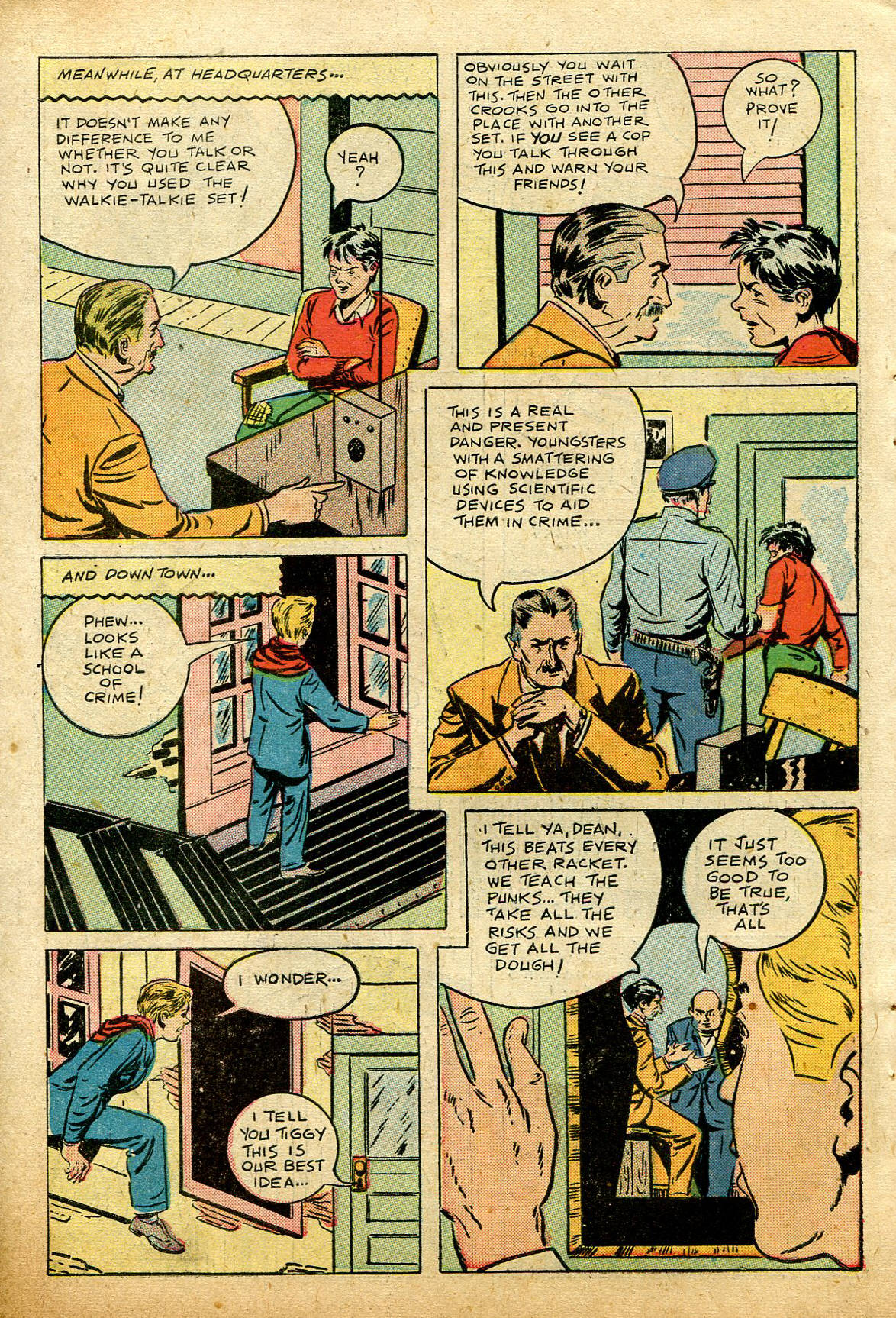 Read online Shadow Comics comic -  Issue #74 - 46