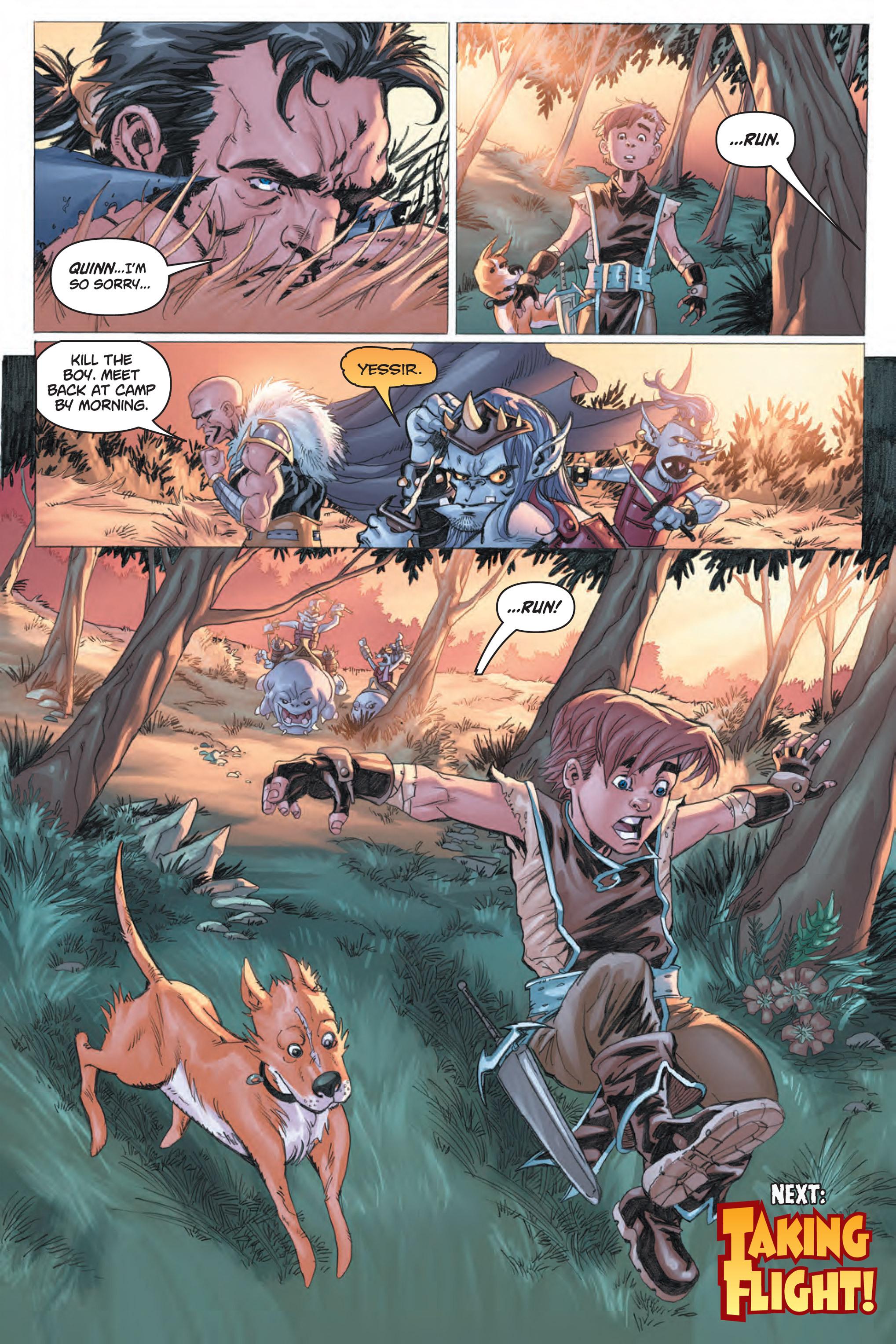 Read online Skyward comic -  Issue #1 - 27