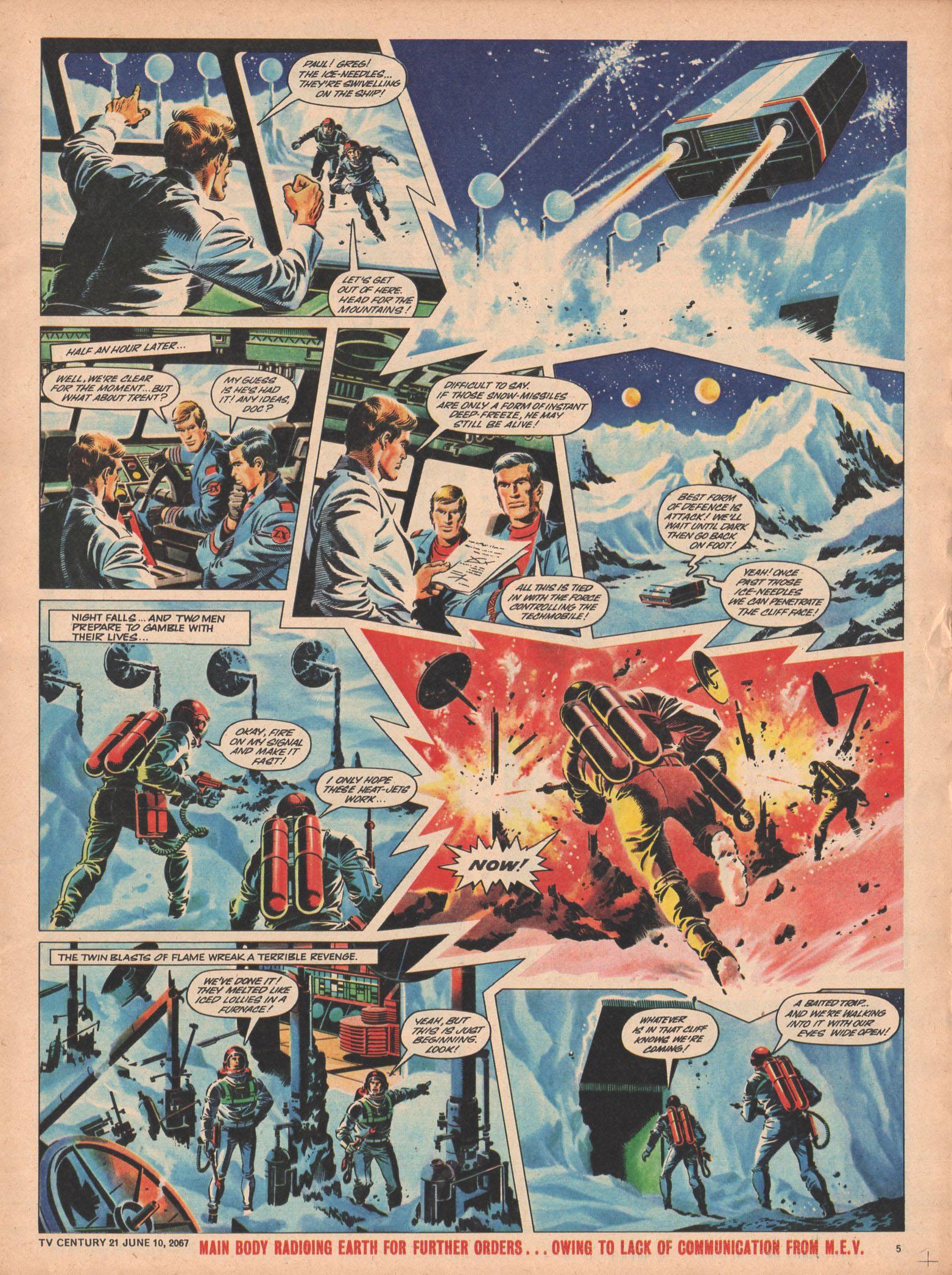 Read online TV Century 21 (TV 21) comic -  Issue #125 - 5