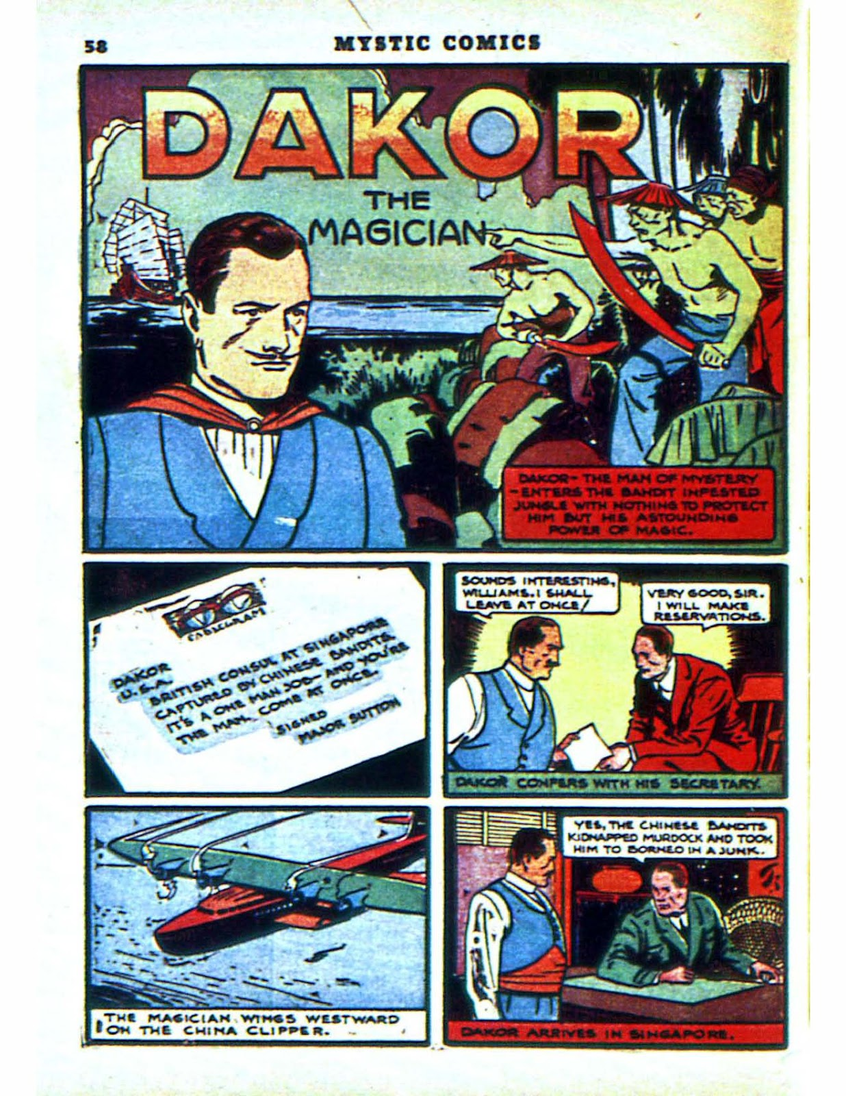 Mystic Comics (1940) issue 2 - Page 60