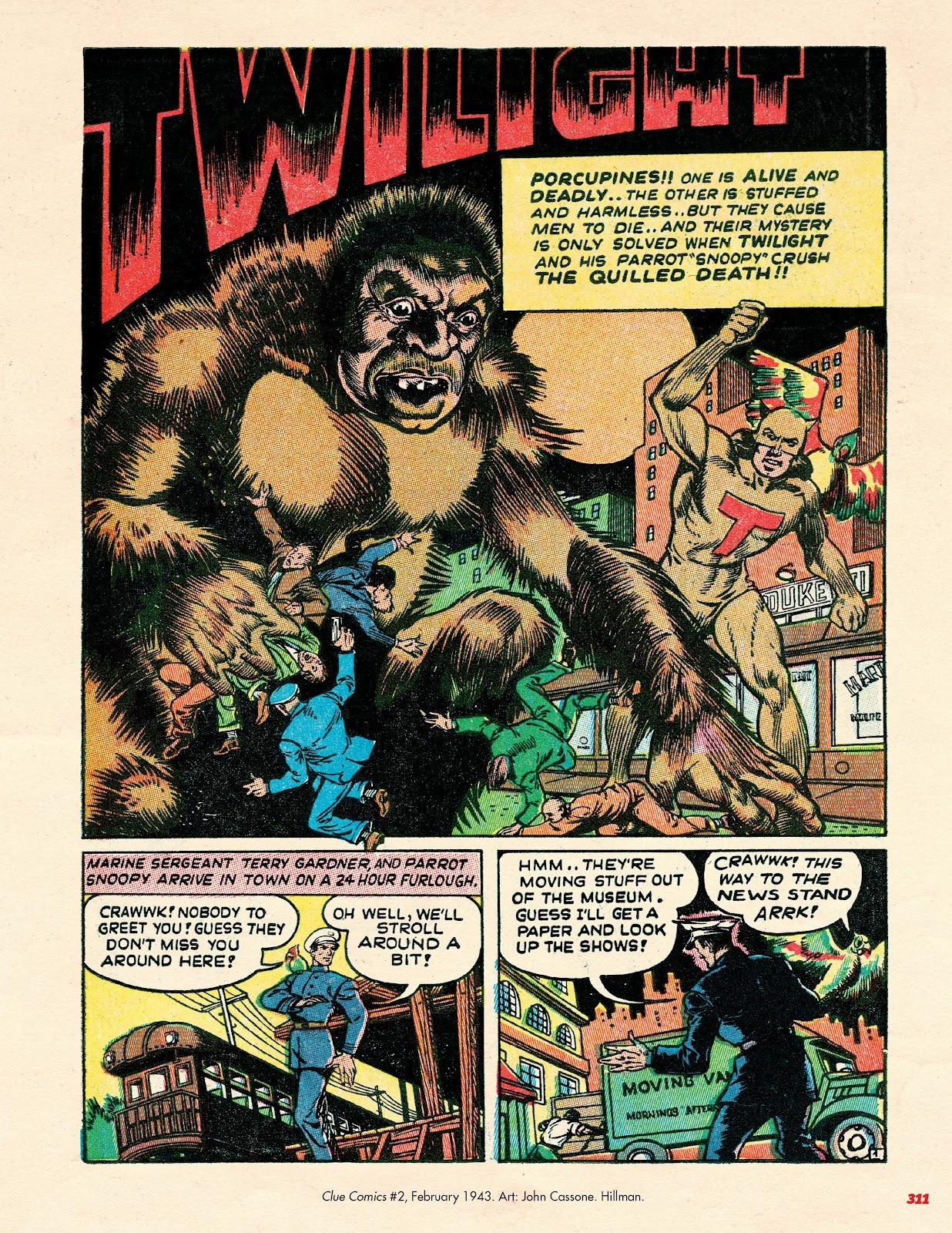 Read online Super Weird Heroes comic -  Issue # TPB 2 (Part 3) - 111