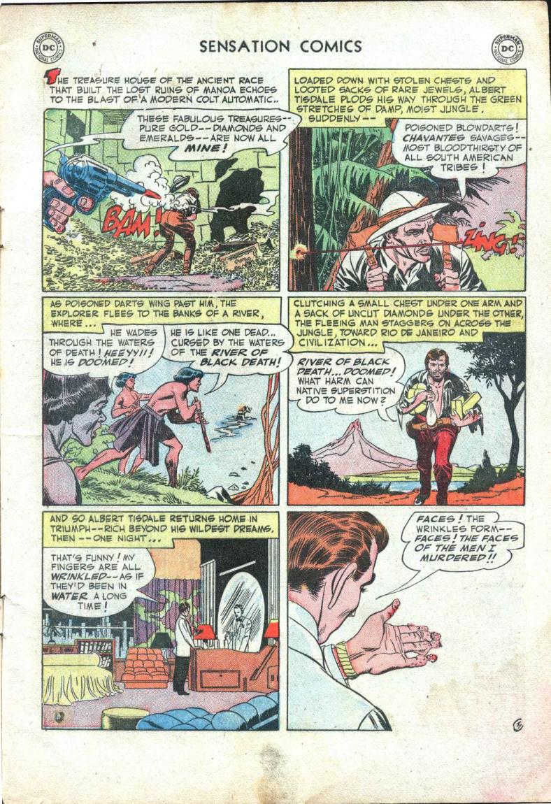 Read online Sensation (Mystery) Comics comic -  Issue #109 - 5