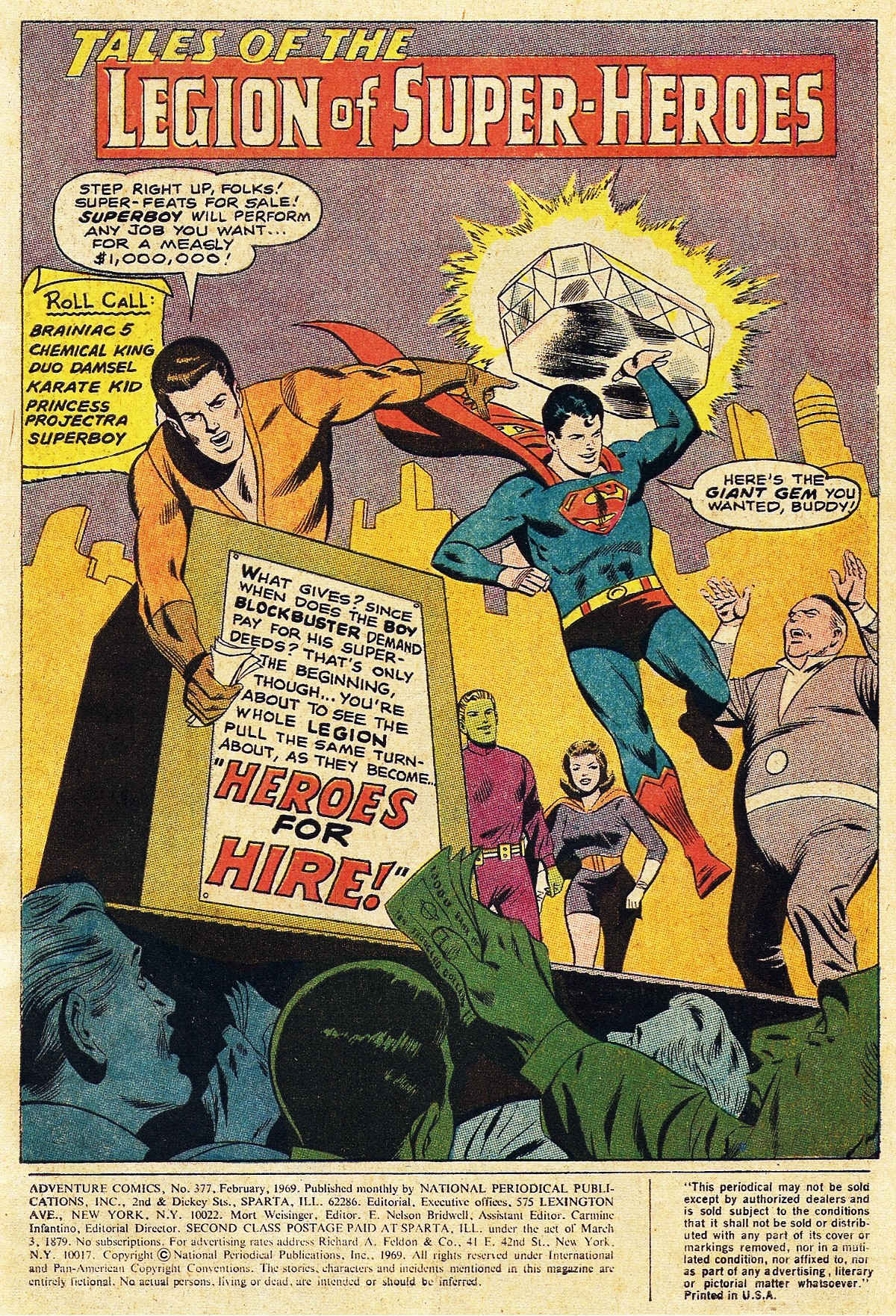 Read online Adventure Comics (1938) comic -  Issue #377 - 3