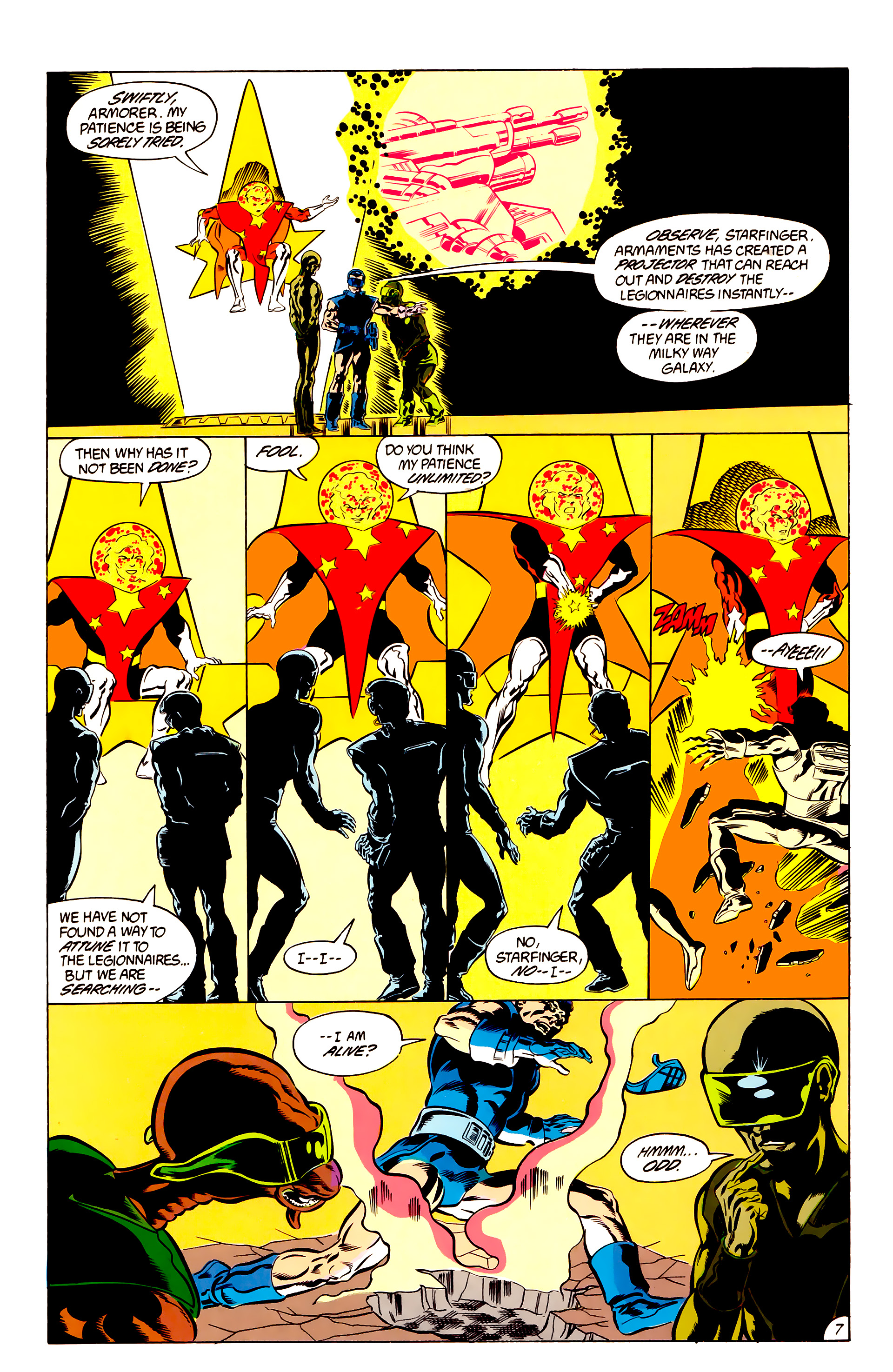 Legion of Super-Heroes (1984) 48 Page 7