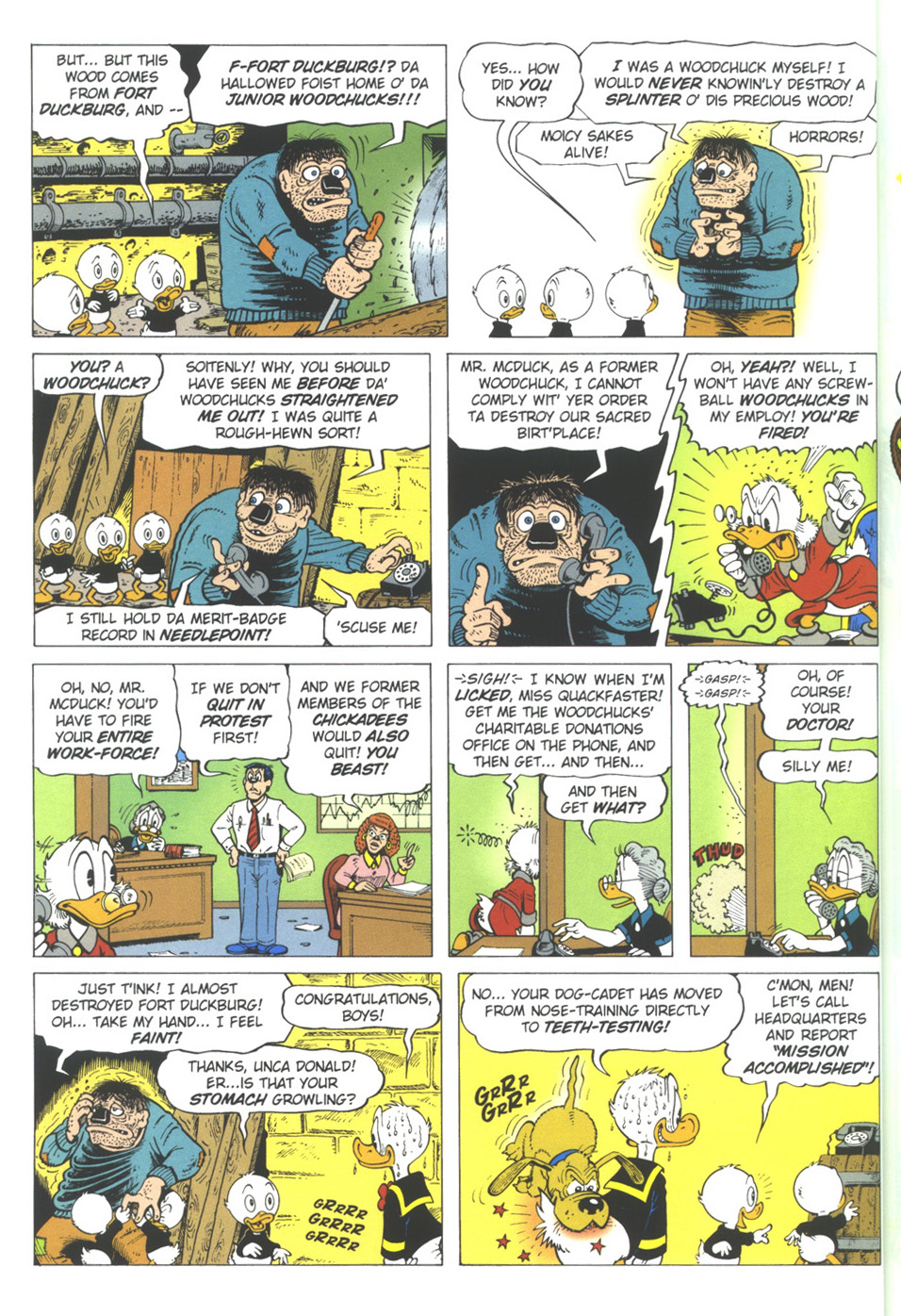 Read online Uncle Scrooge (1953) comic -  Issue #309 - 18
