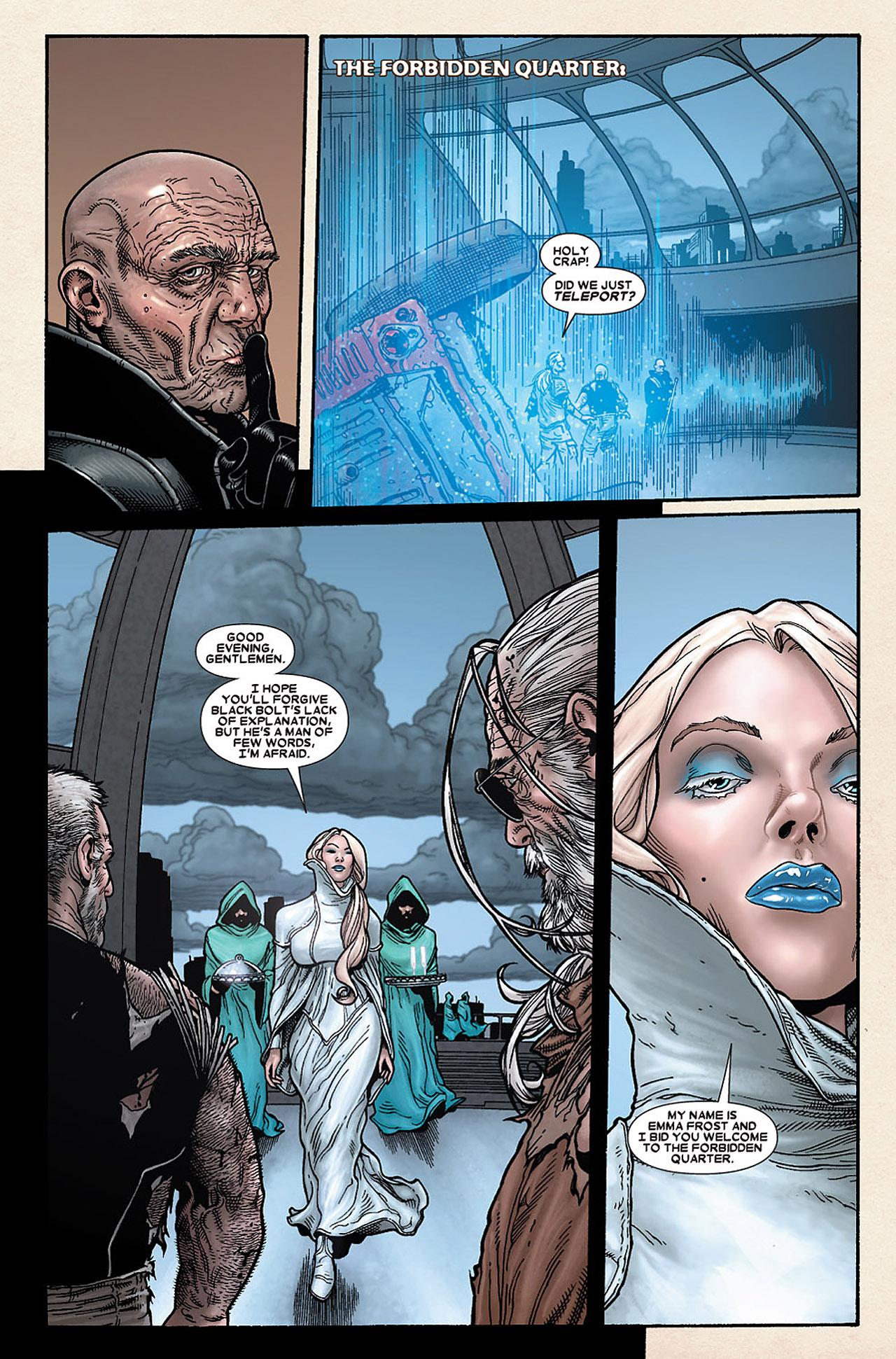 Read online Wolverine: Old Man Logan comic -  Issue # Full - 121