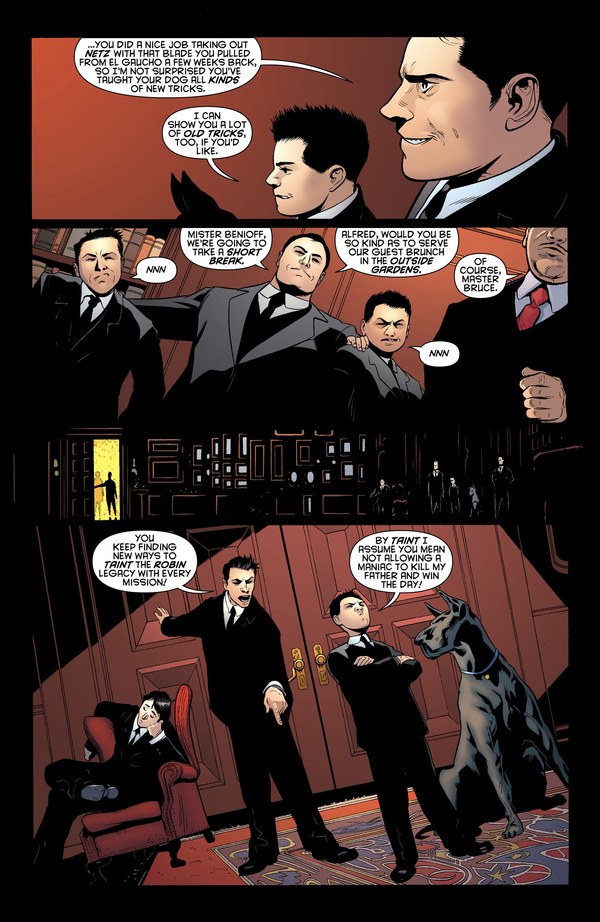 Read online Batman and Robin (2011) comic -  Issue #10 - 7