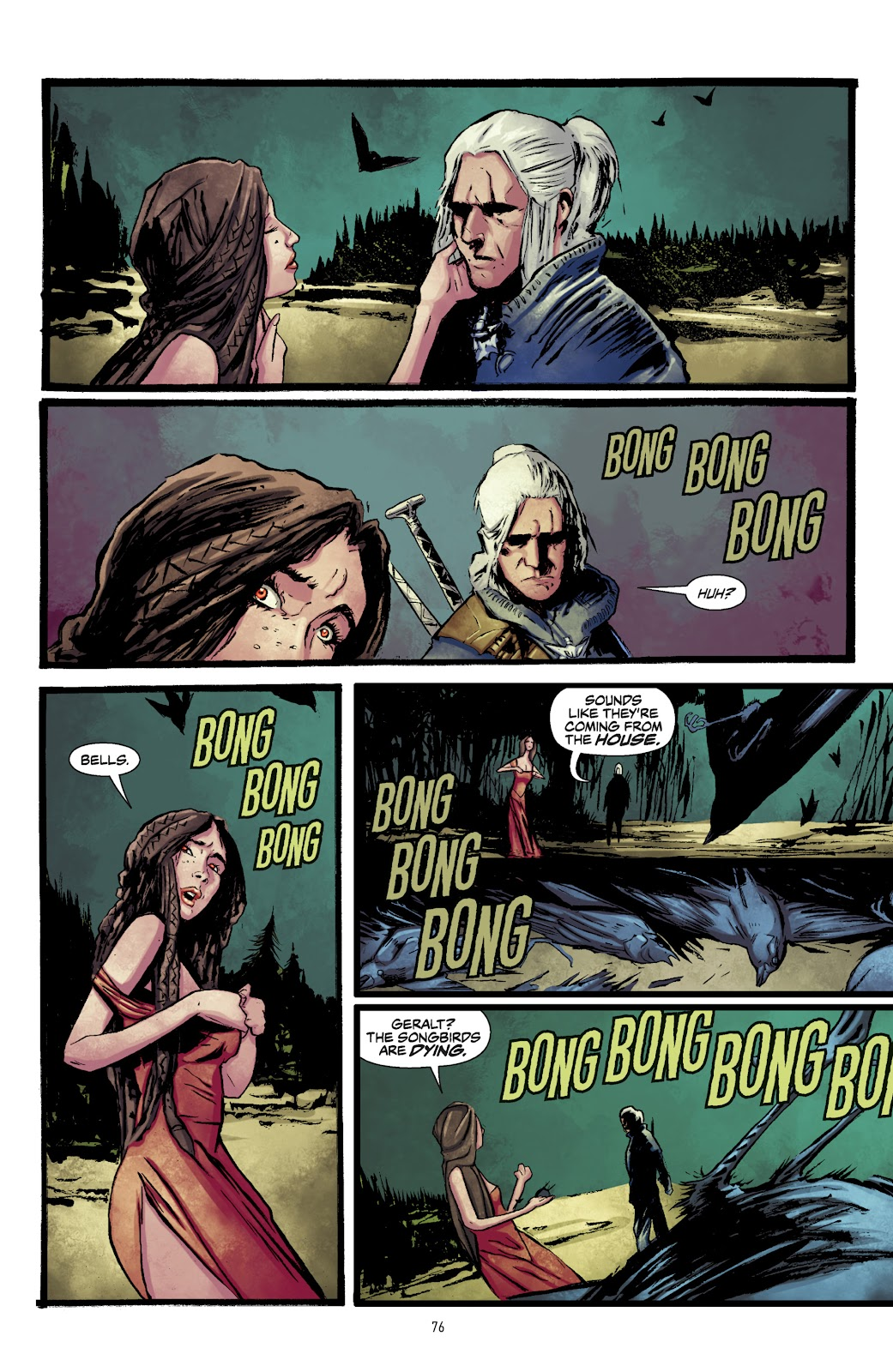 Read online The Witcher Omnibus comic -  Issue # TPB (Part 1) - 75